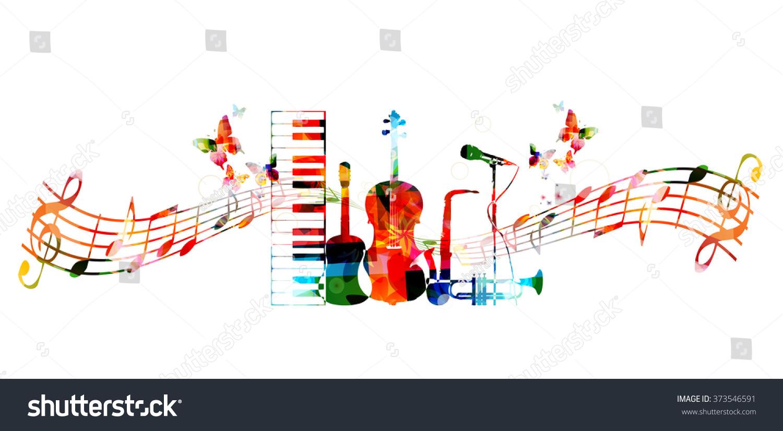 colourful music designs wwwimgkidcom the image kid