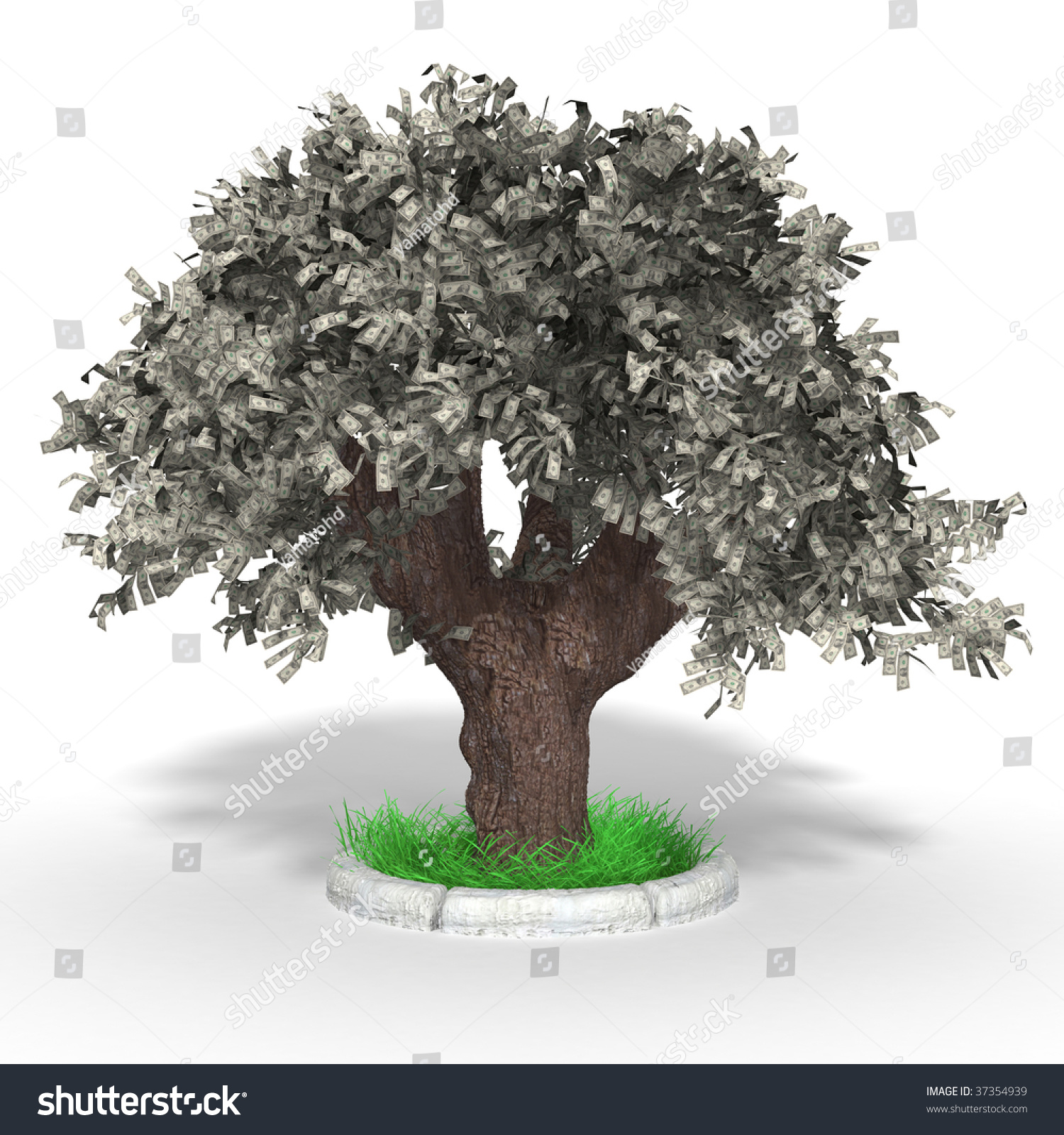 how to make a real money tree