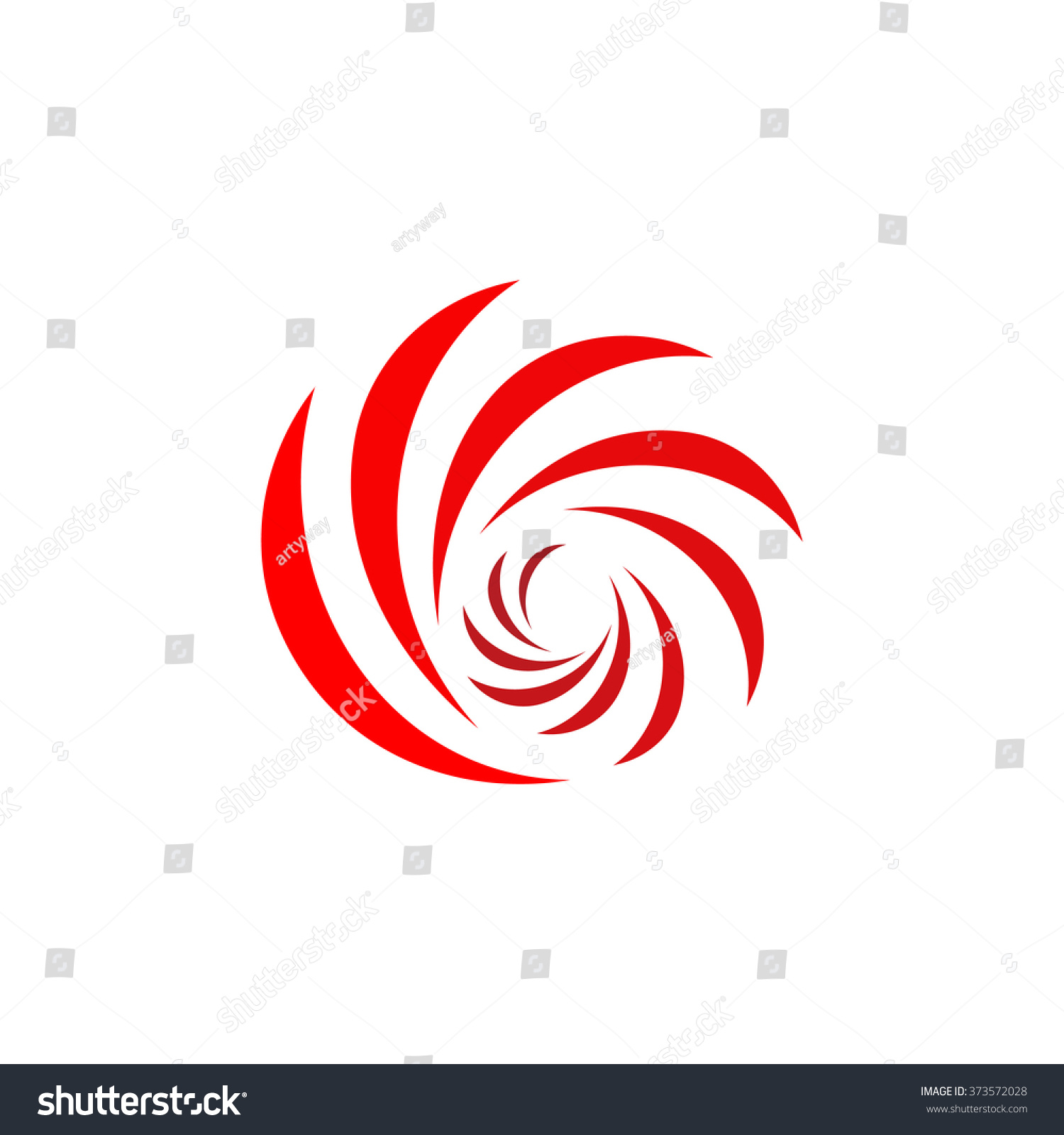 isolated colorful vector sweet logo red stock vector royalty free