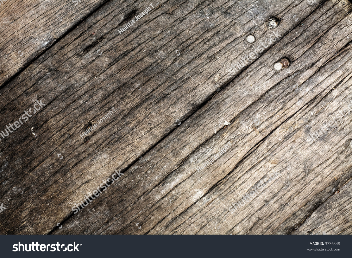 Section of a worn out wooden floor stock photo 3736348 Worn wood floors