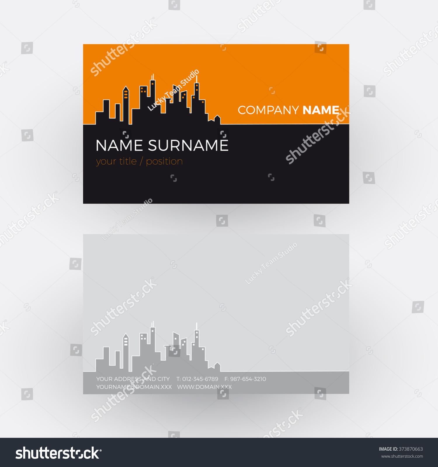 Vector Abstract City Buildings Background Business Stock Vector ...