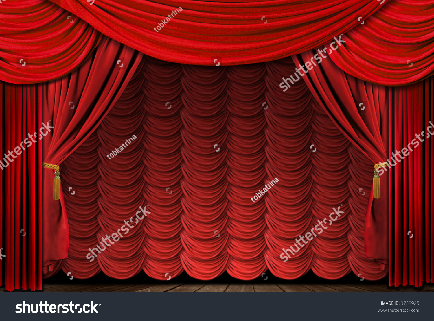 Stock photo dramatic red old fashioned elegant theater stage stock - Old Fashioned Elegant Theater Stage With Velvet Curtains Preview Save To A Lightbox Find Similar Images Share