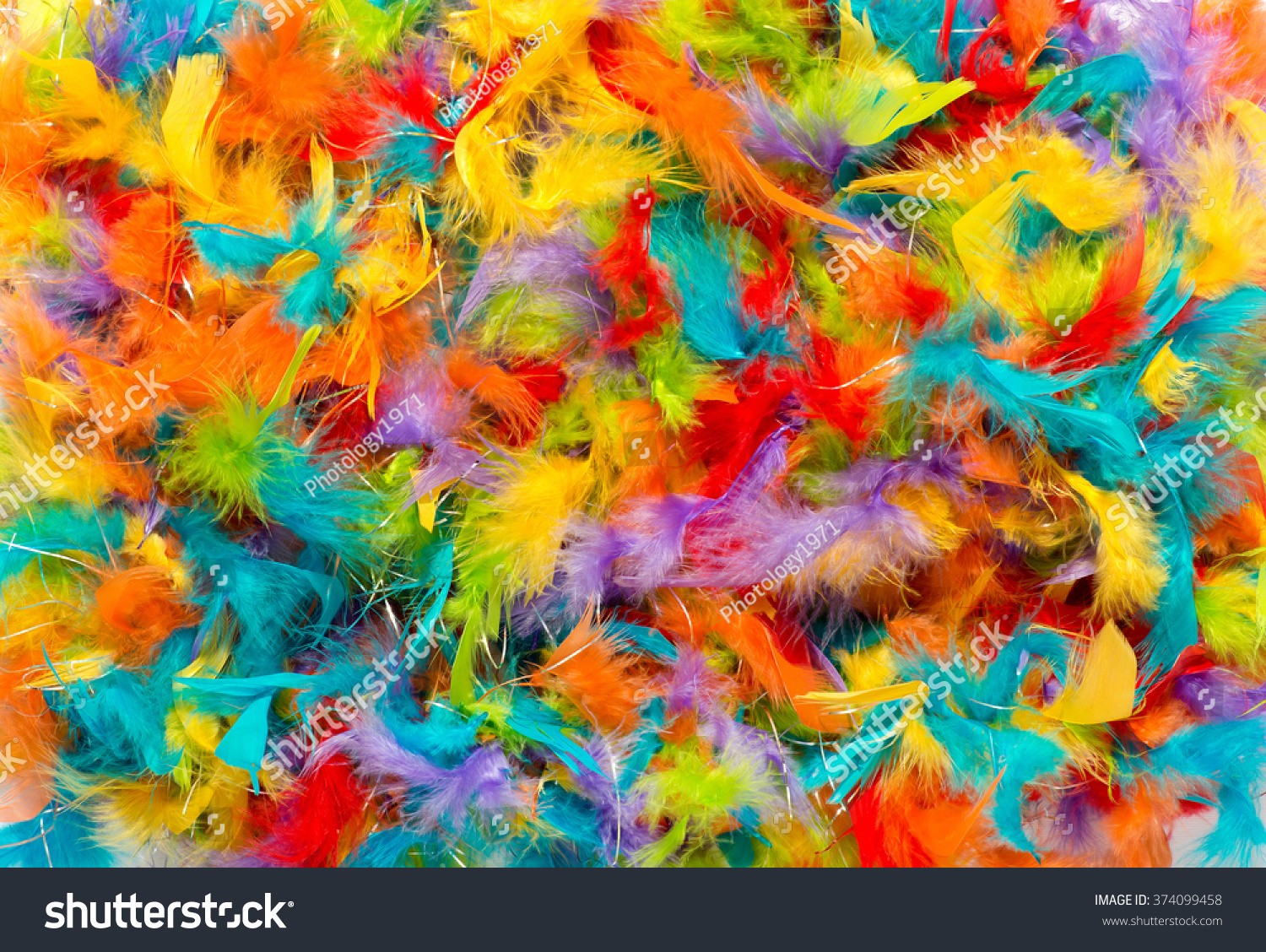 Colorful Background Vivid Brightly Colored Dyed Stock