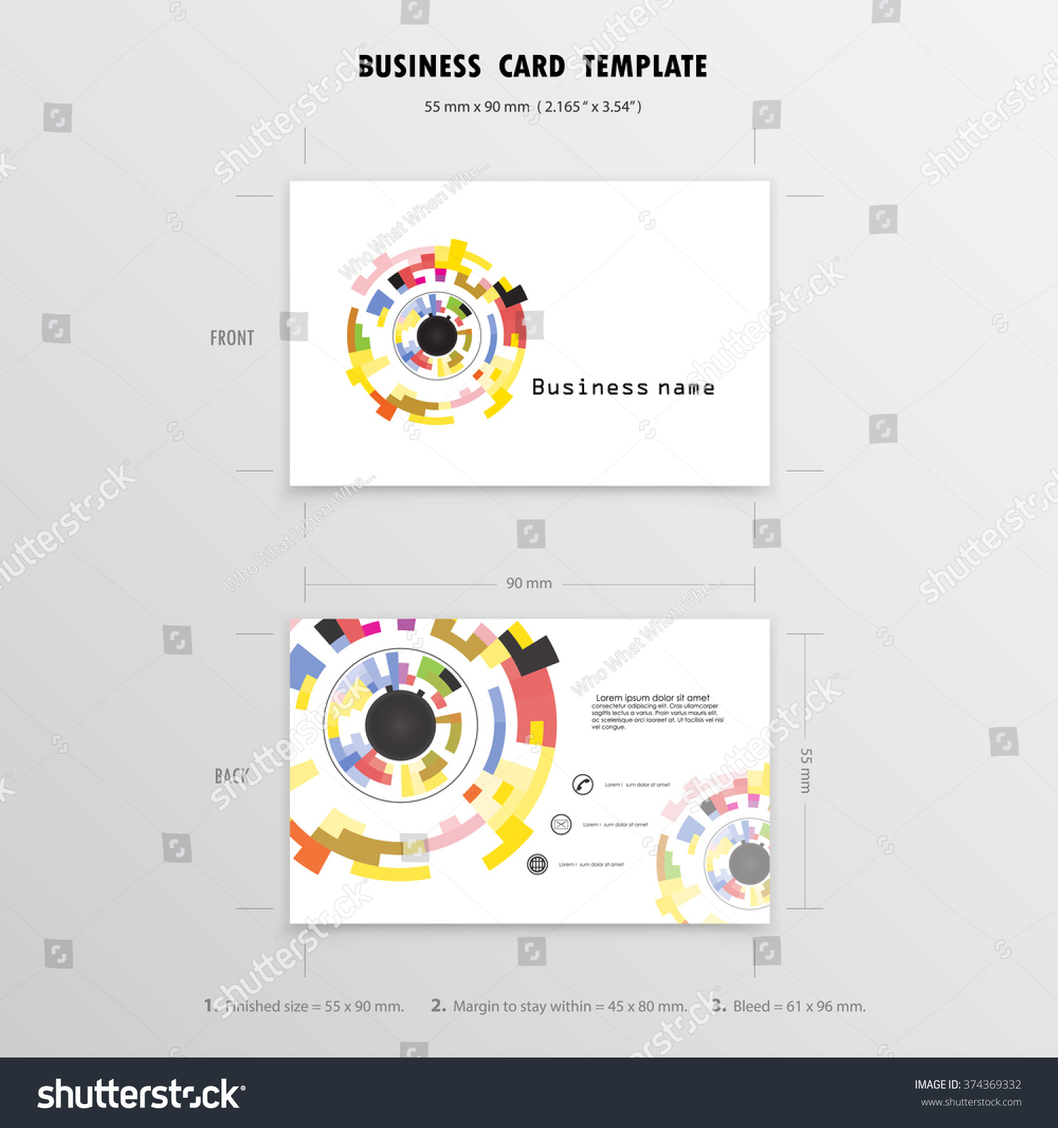 business card template 85mm x 54mm images card design and card