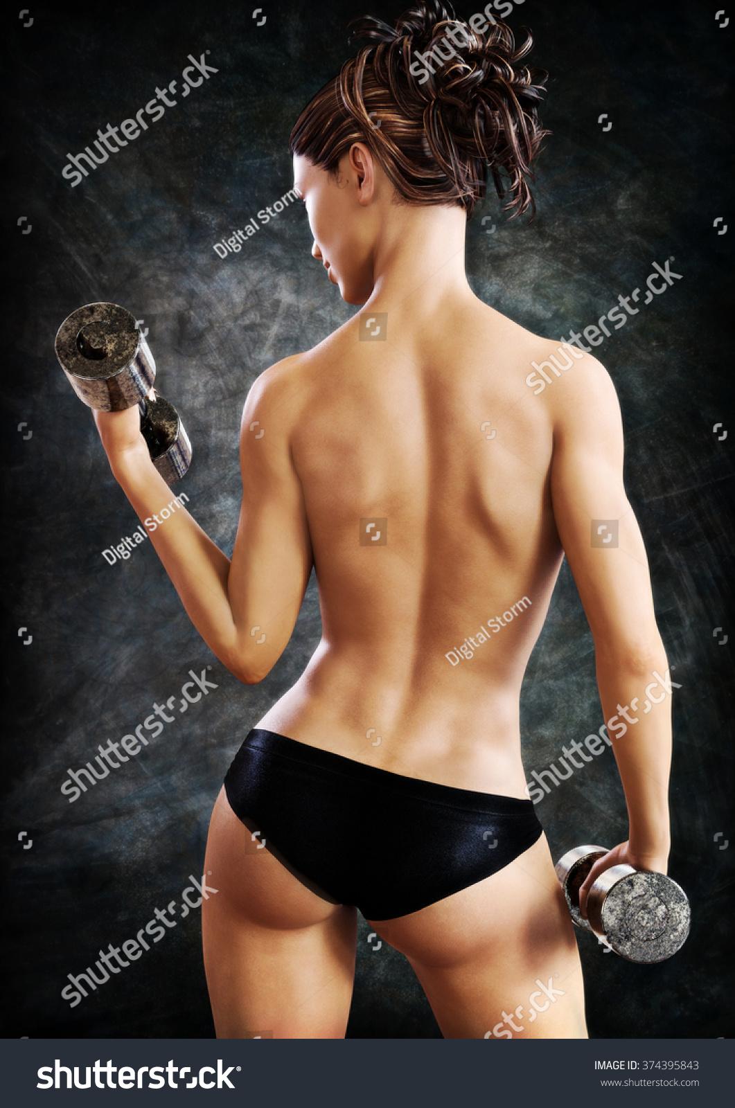 Nude urheilullinen mallit