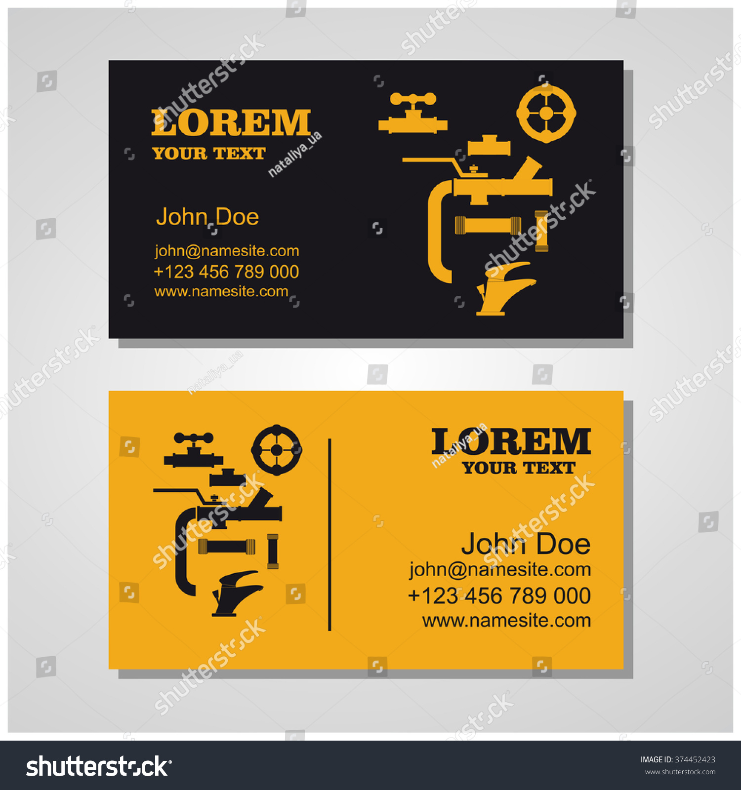 Plumbing Business Card Gallery - Free Business Cards