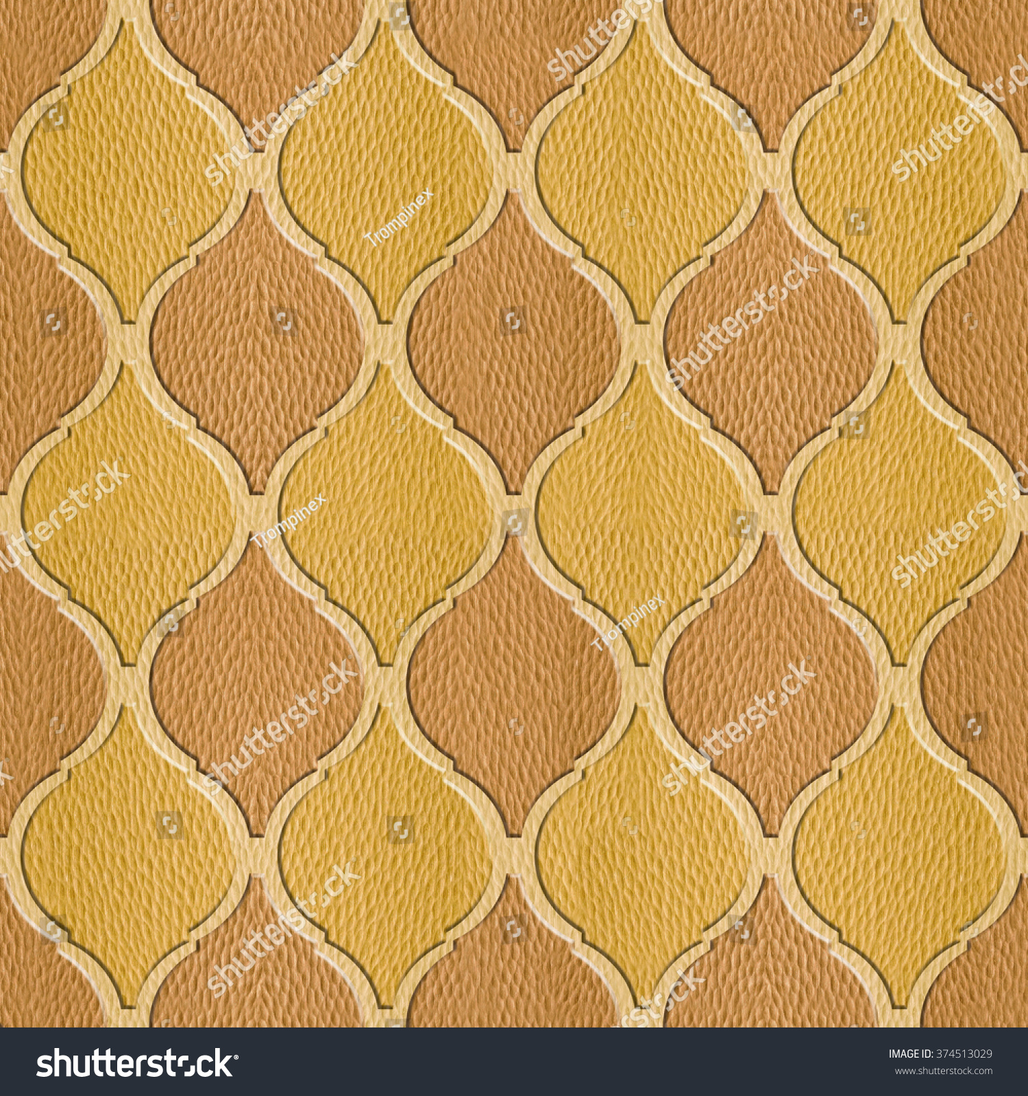 Interior Wall Panel Pattern Abstract Decoration Stock Illustration ...