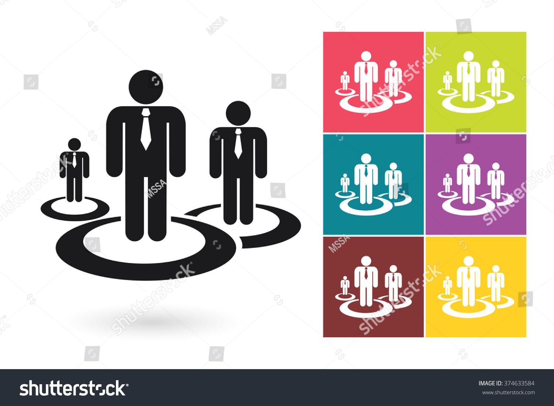 Human resources management icon symbol hr stock vector 374633584 human resources management icon symbol for hr logo or label vector illustration biocorpaavc Choice Image