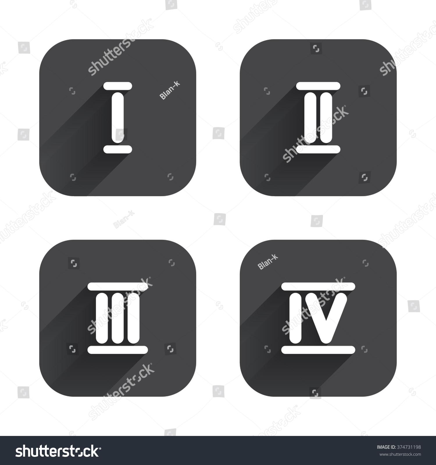 Roman Numeral 2 Symbol