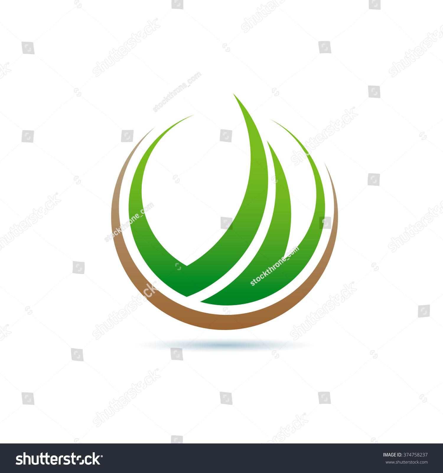 Green World Concept Vector Stock Photos - Image: 28021723 |Green World Logo