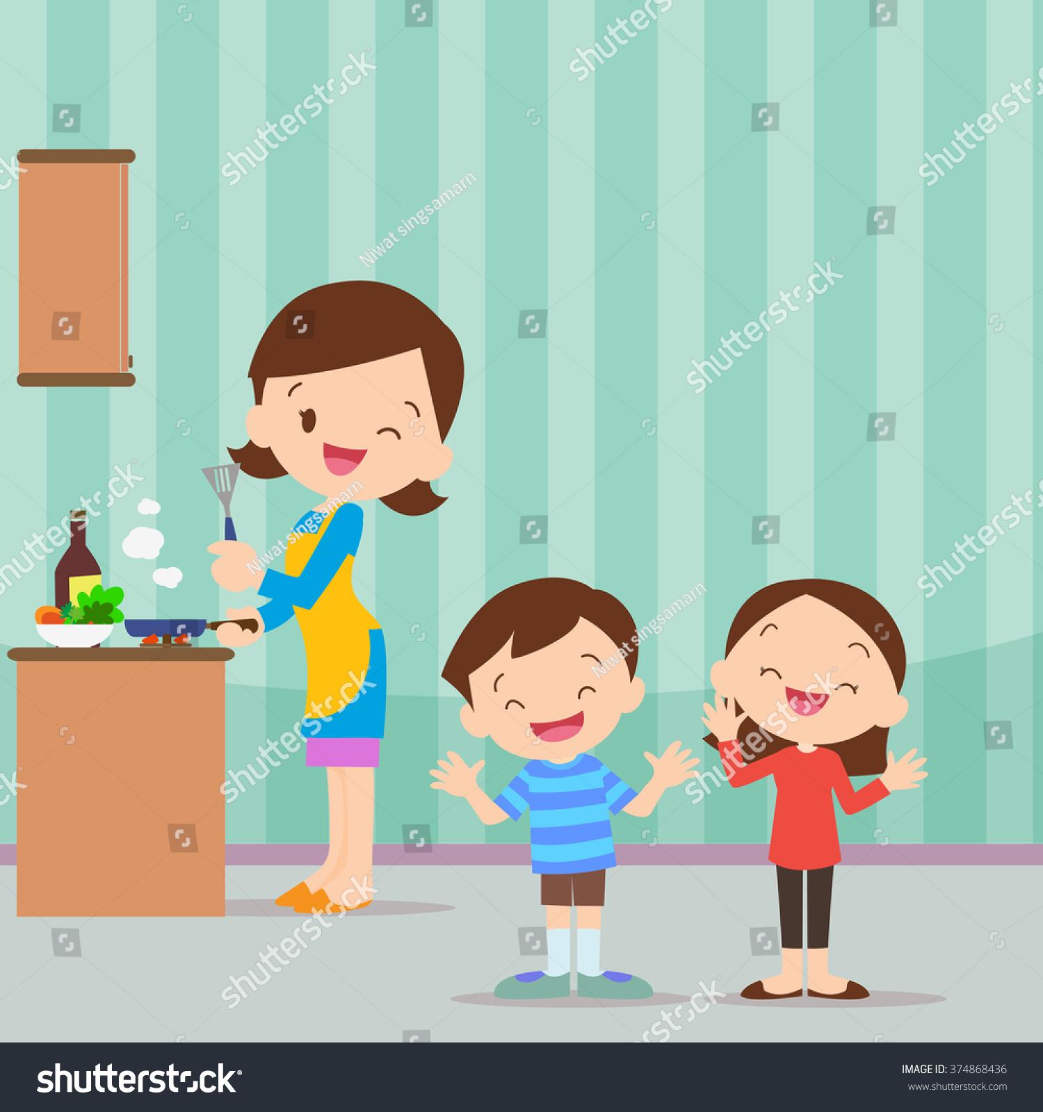 Showing post & media for Cartoon mom cooking | www.cartoonsmix.com