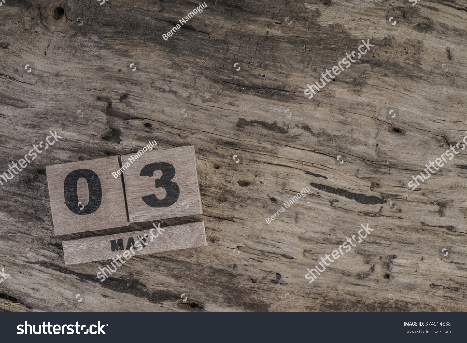 Template Cube Calendar May On Wooden Stock Photo Royalty Free
