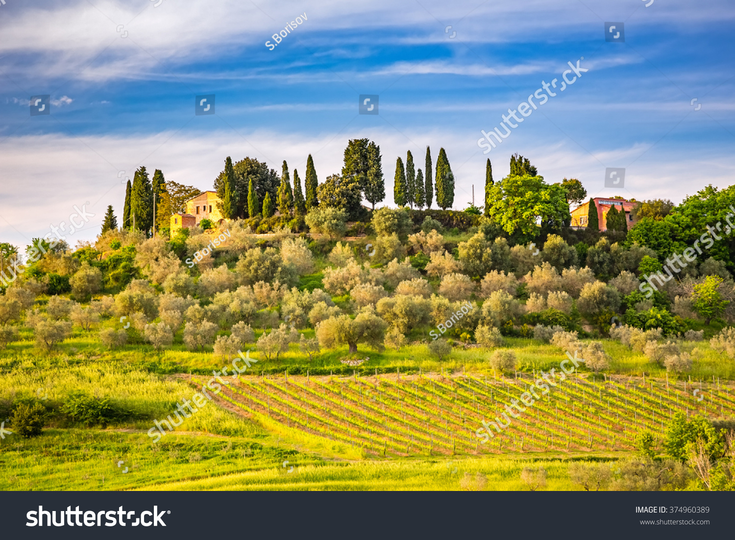 beautiful tuscany landscape italy - photo #24