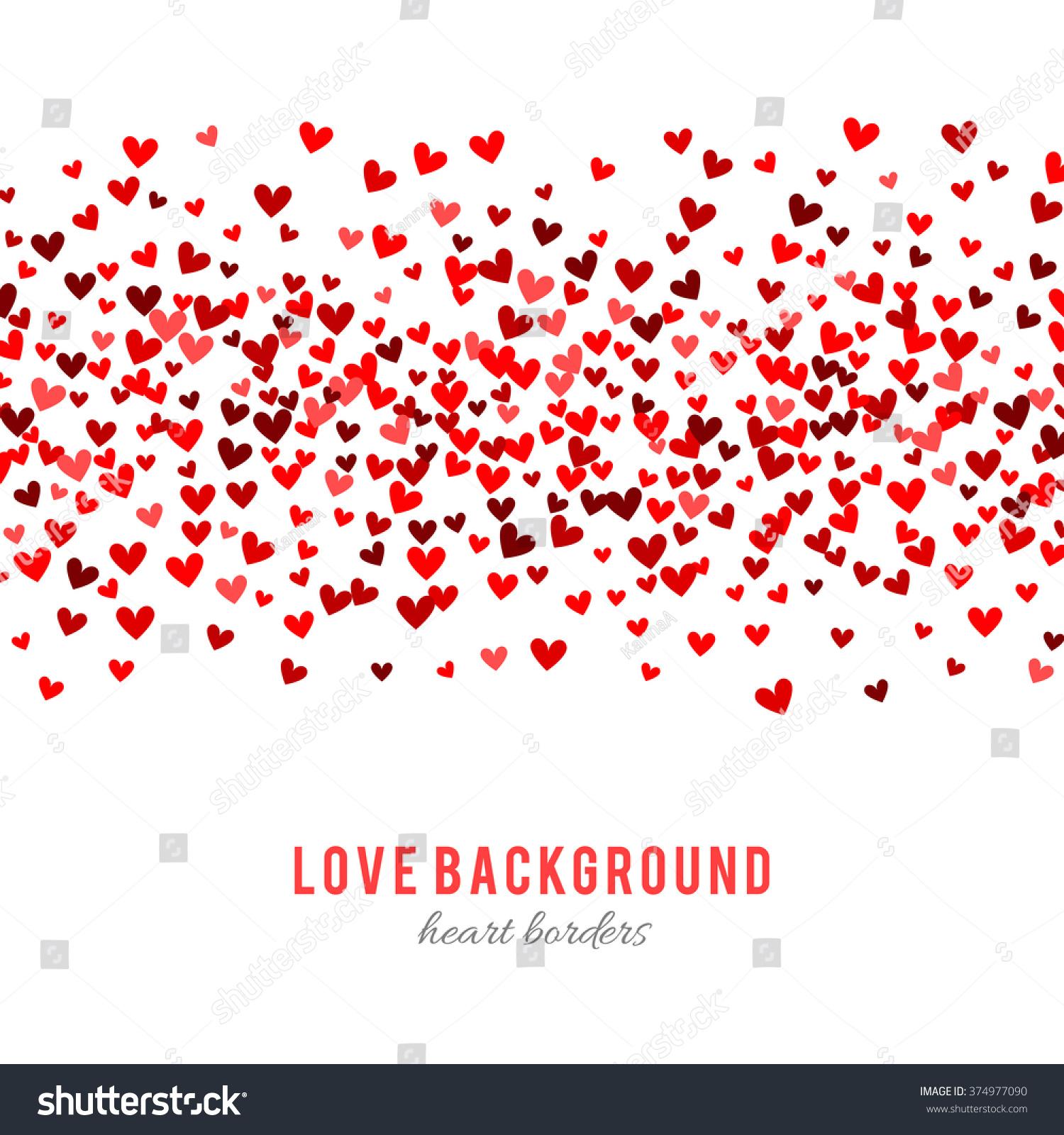 holiday hearts wallpaper vector - photo #42