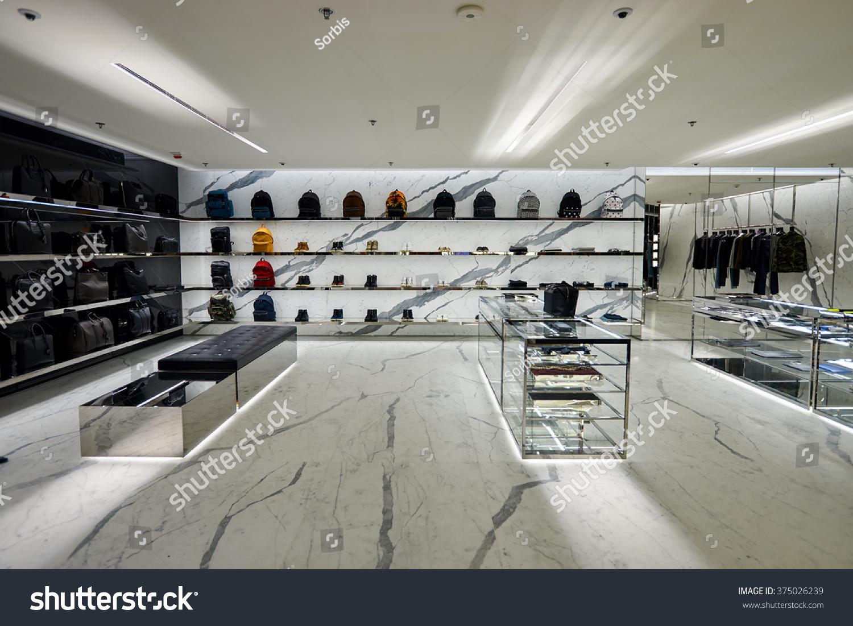 hong kong january 26 2016 ysl stock photo 375026239 shutterstock. Black Bedroom Furniture Sets. Home Design Ideas