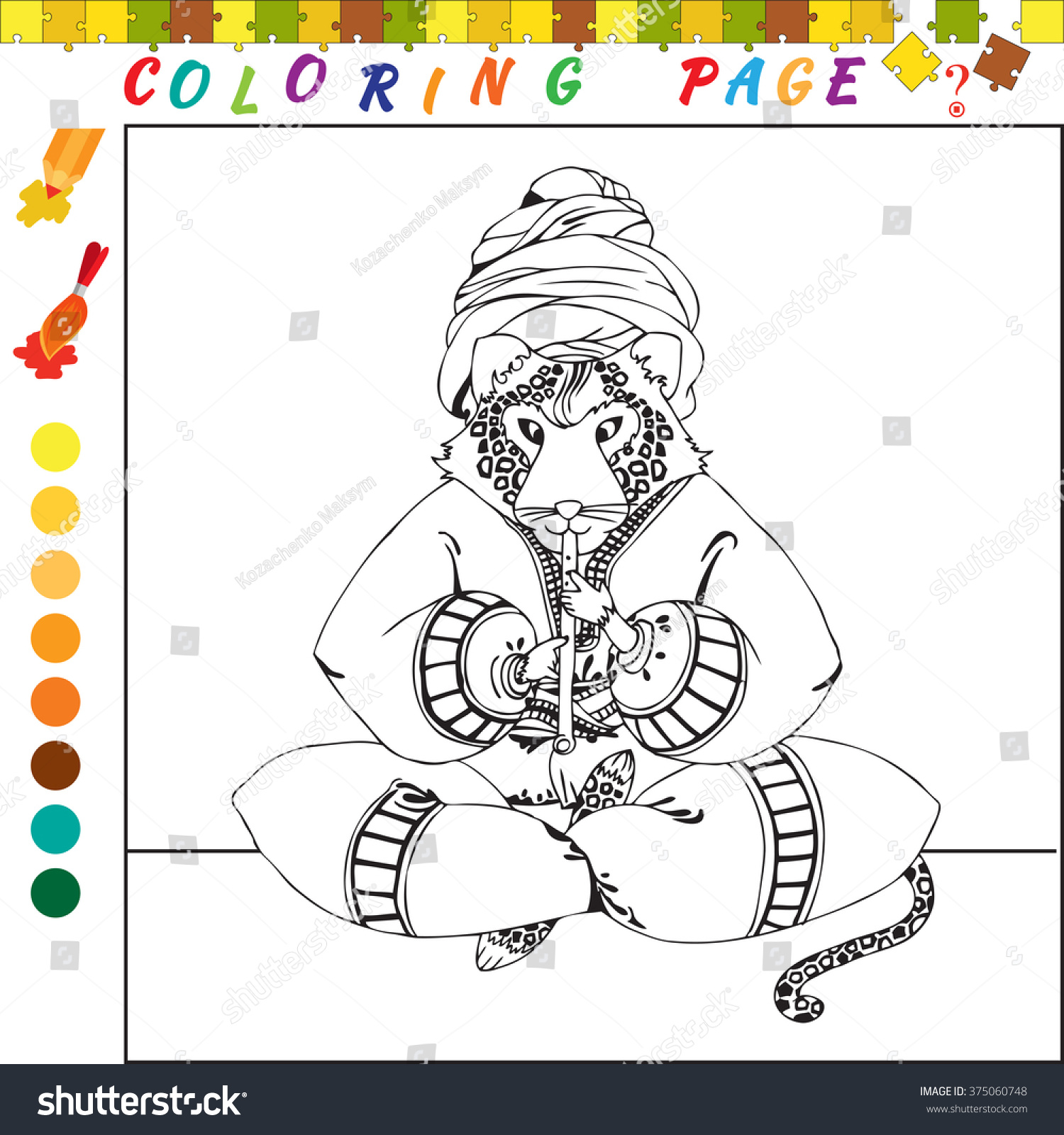 Co coloring books game - Co Coloring Books Game Coloring Book With Animal Theme Black And White Outline Illustration For