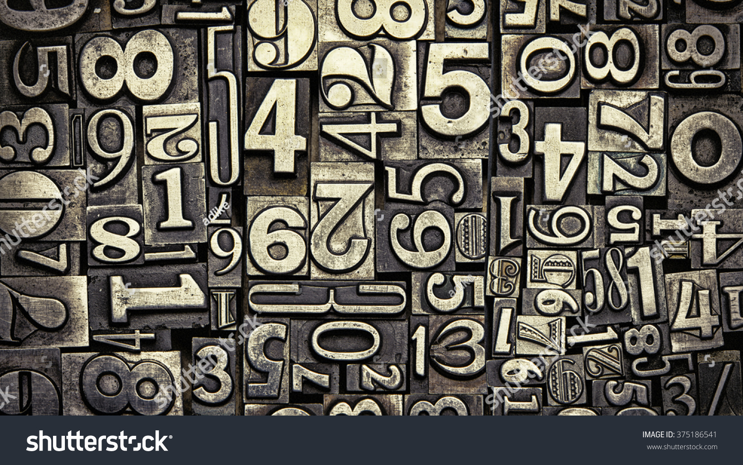 Old Metal Letters Mesmerizing Old Metal Letters Stock Photo 375186541  Shutterstock Review