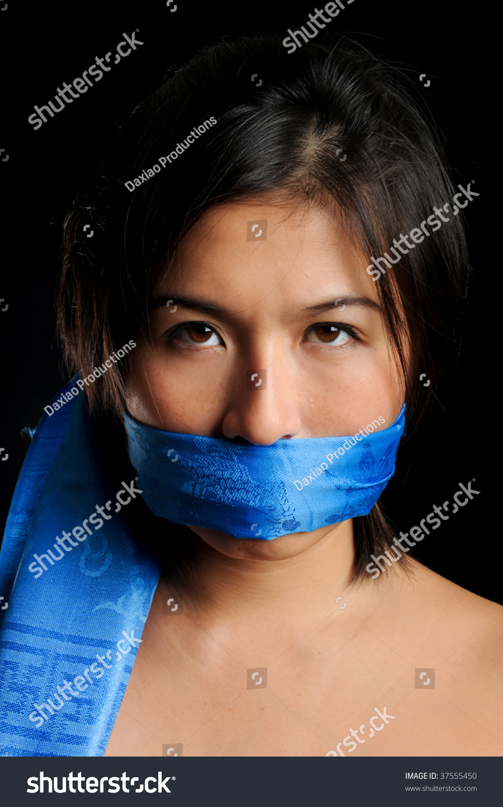Gag scarf Interested In
