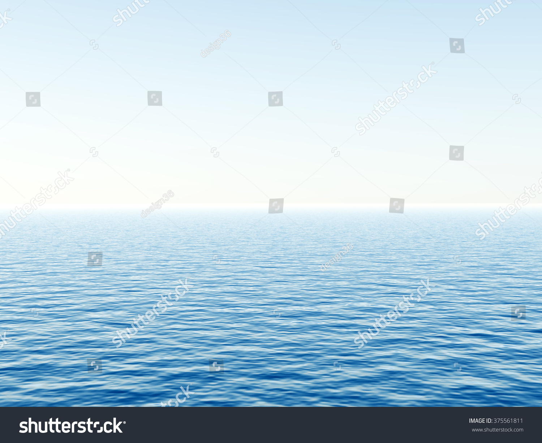 calm water metaphor