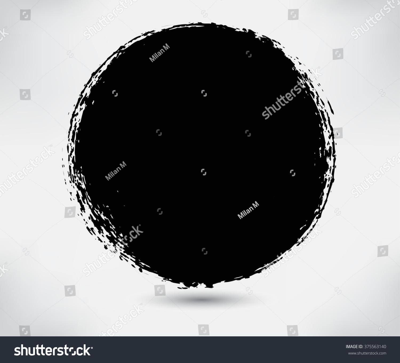 of vector grunge circle - photo #10
