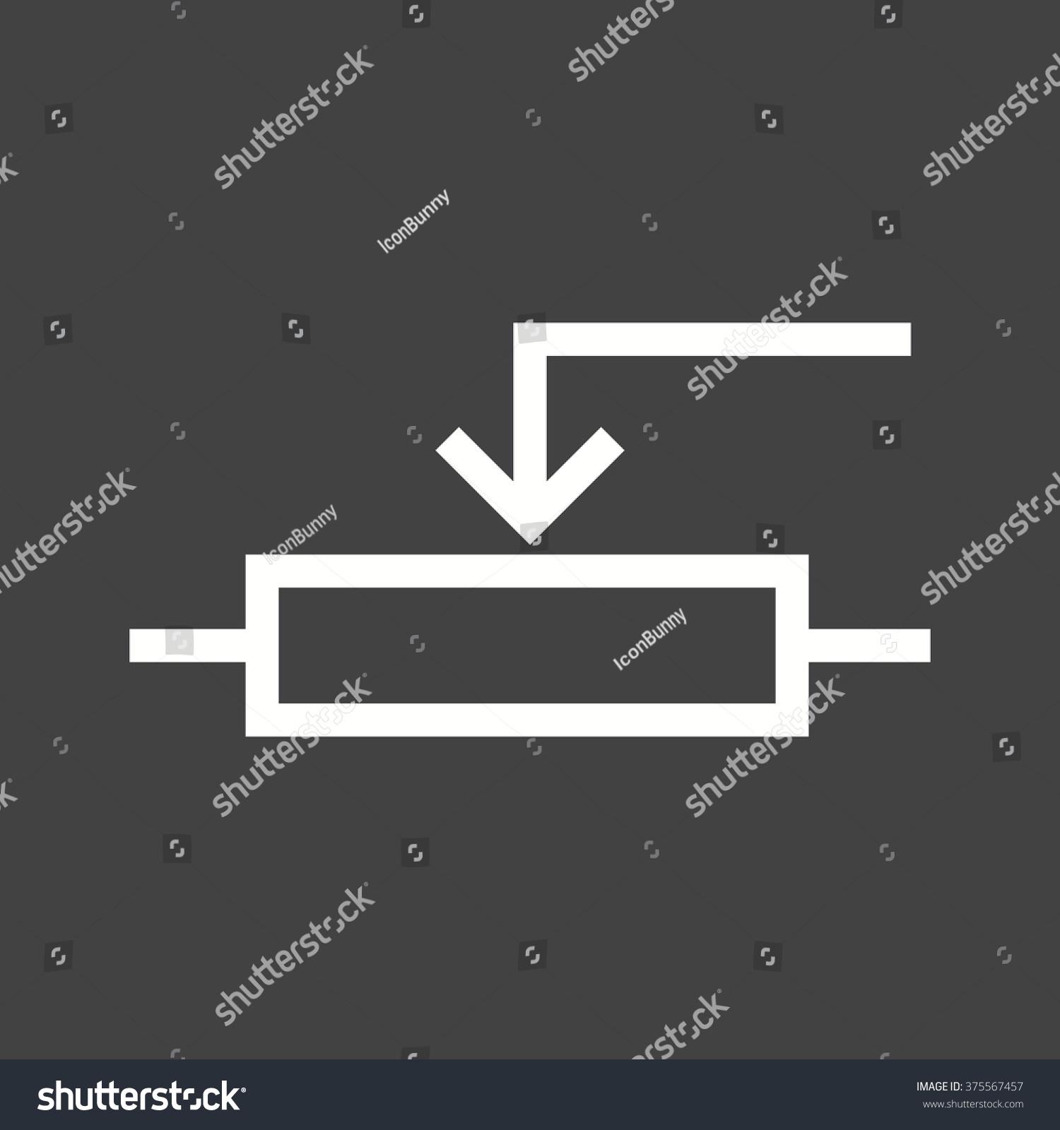 Potentiometer Stock Vector 375567457 - Shutterstock