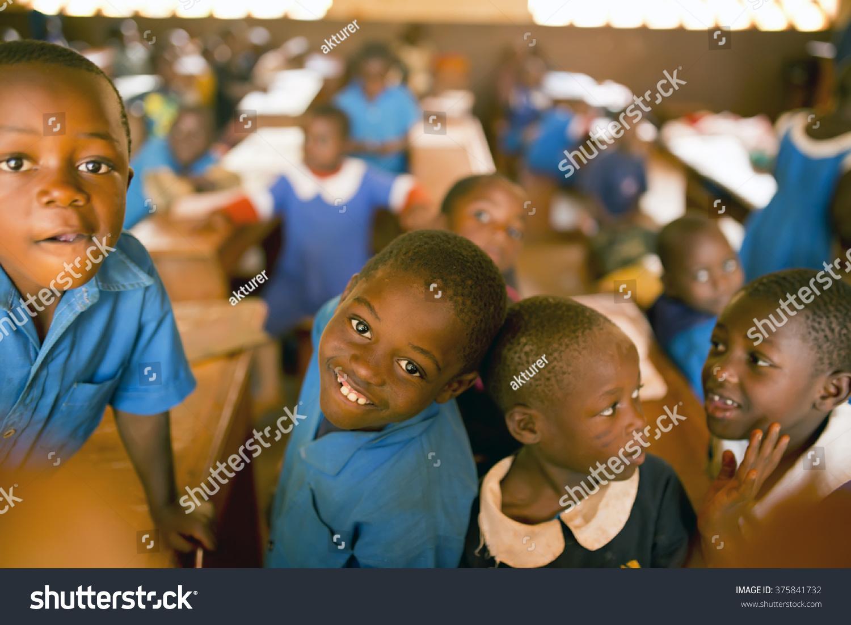 BAMENDA CAMEROON 15022015 School Kids Primary Stock Photo (Royalty ...