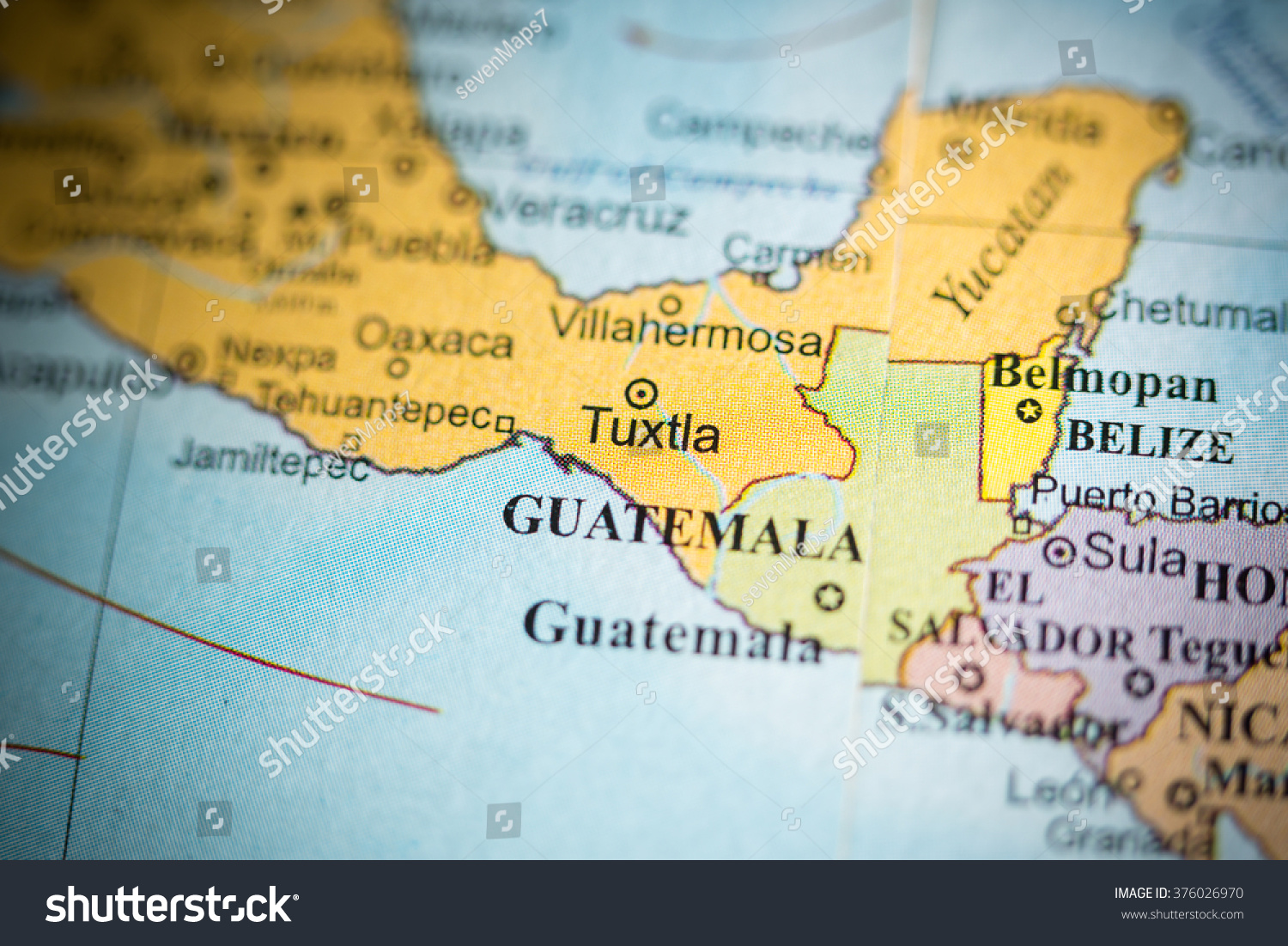 Geographical Map Of Guatemala Picture Ideas References