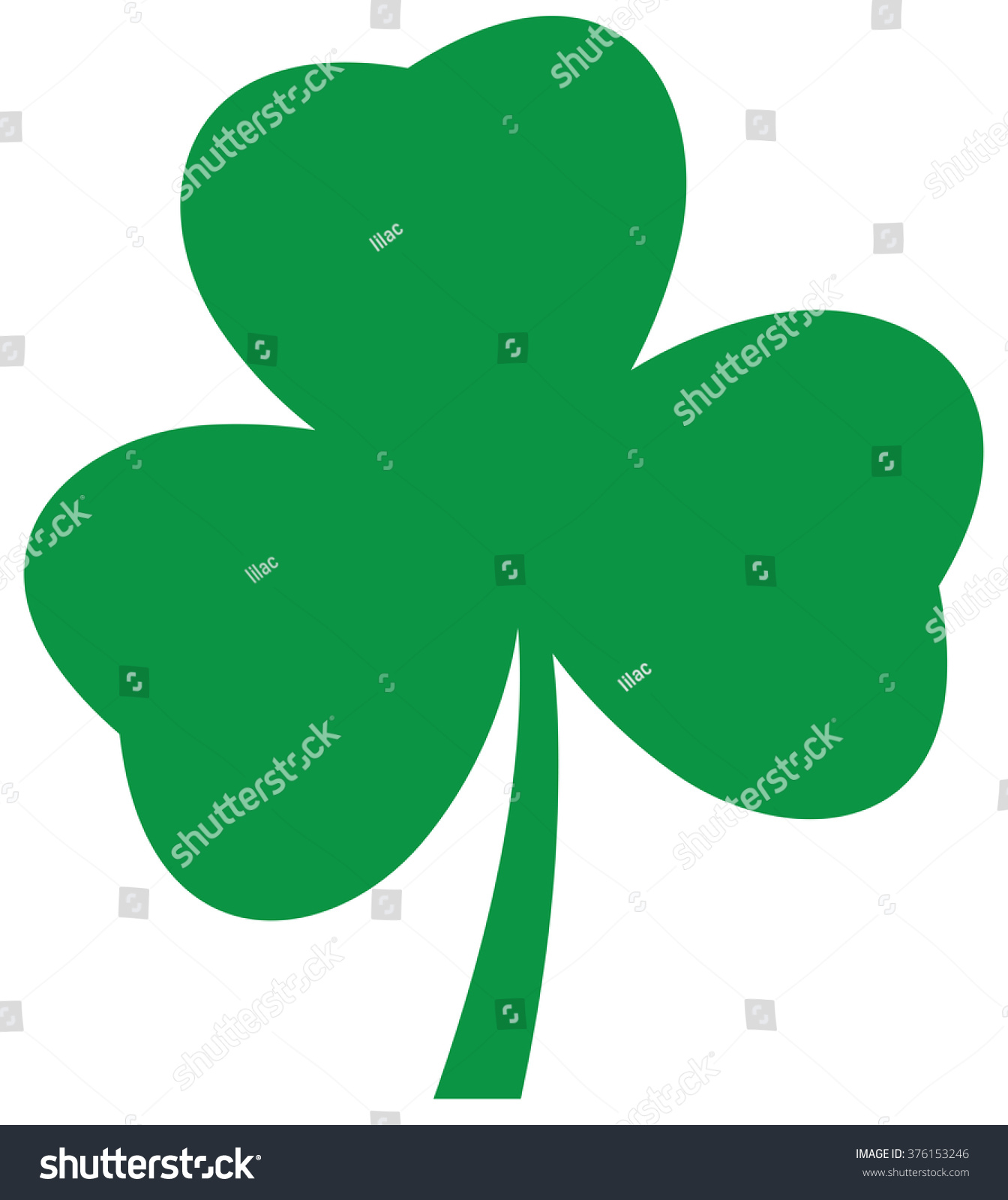 vector illustration shamrock icon st patrick stock vector 2018 rh shutterstock com shamrock vector file celtic shamrock vector