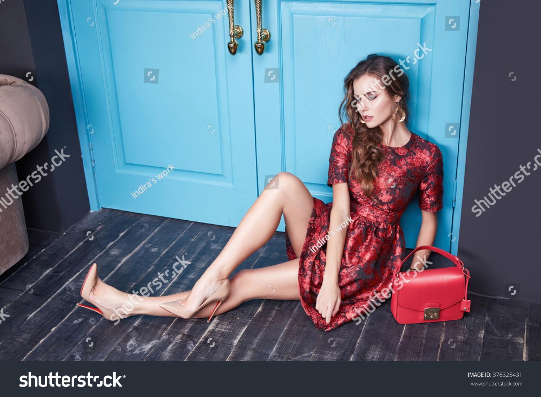Red Door Sexy Shoes-3183
