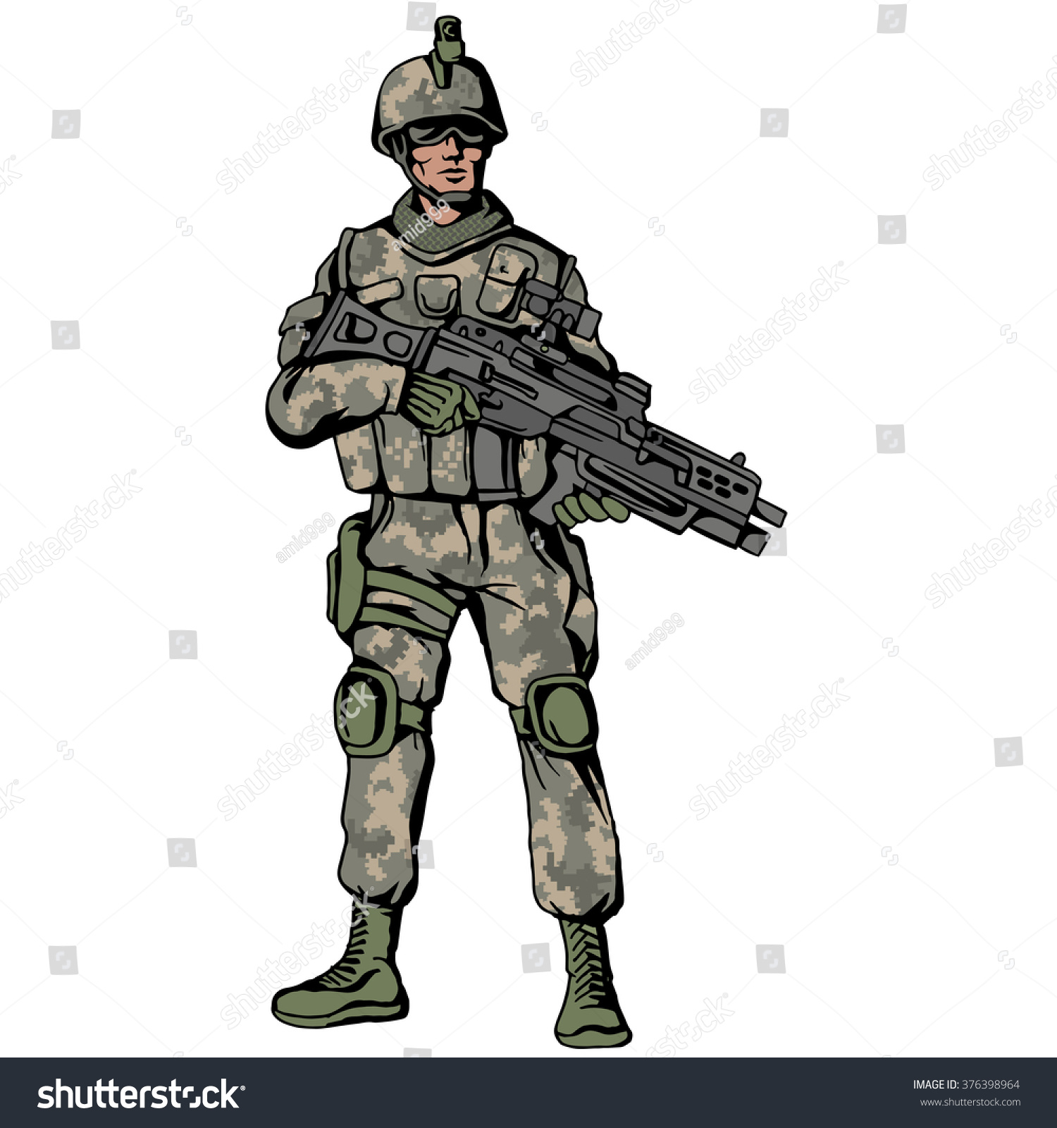 Clip Art Of Military Soldiers Creed