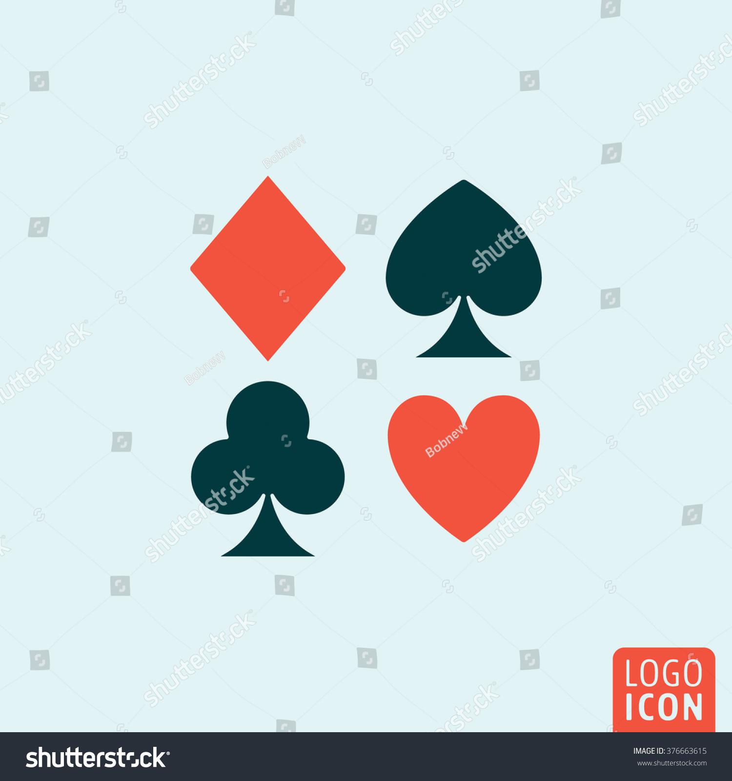 Poker card symbol names