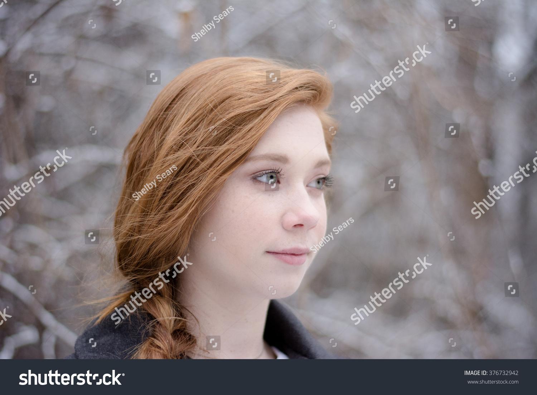 teenage redhead bib tit