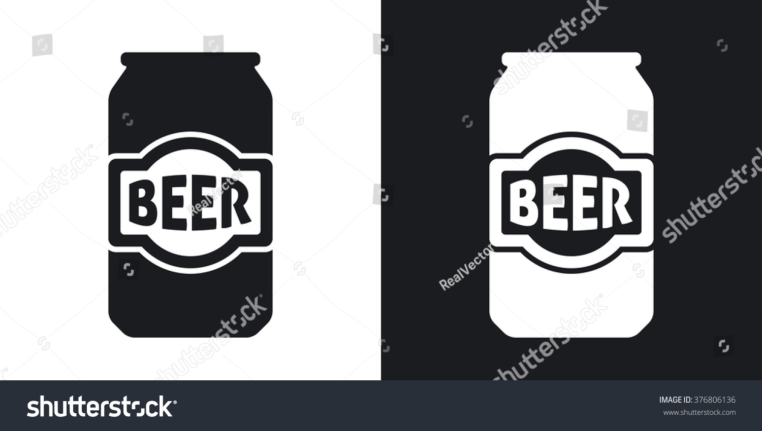 Pics For > Beer Can Clipart Black And White