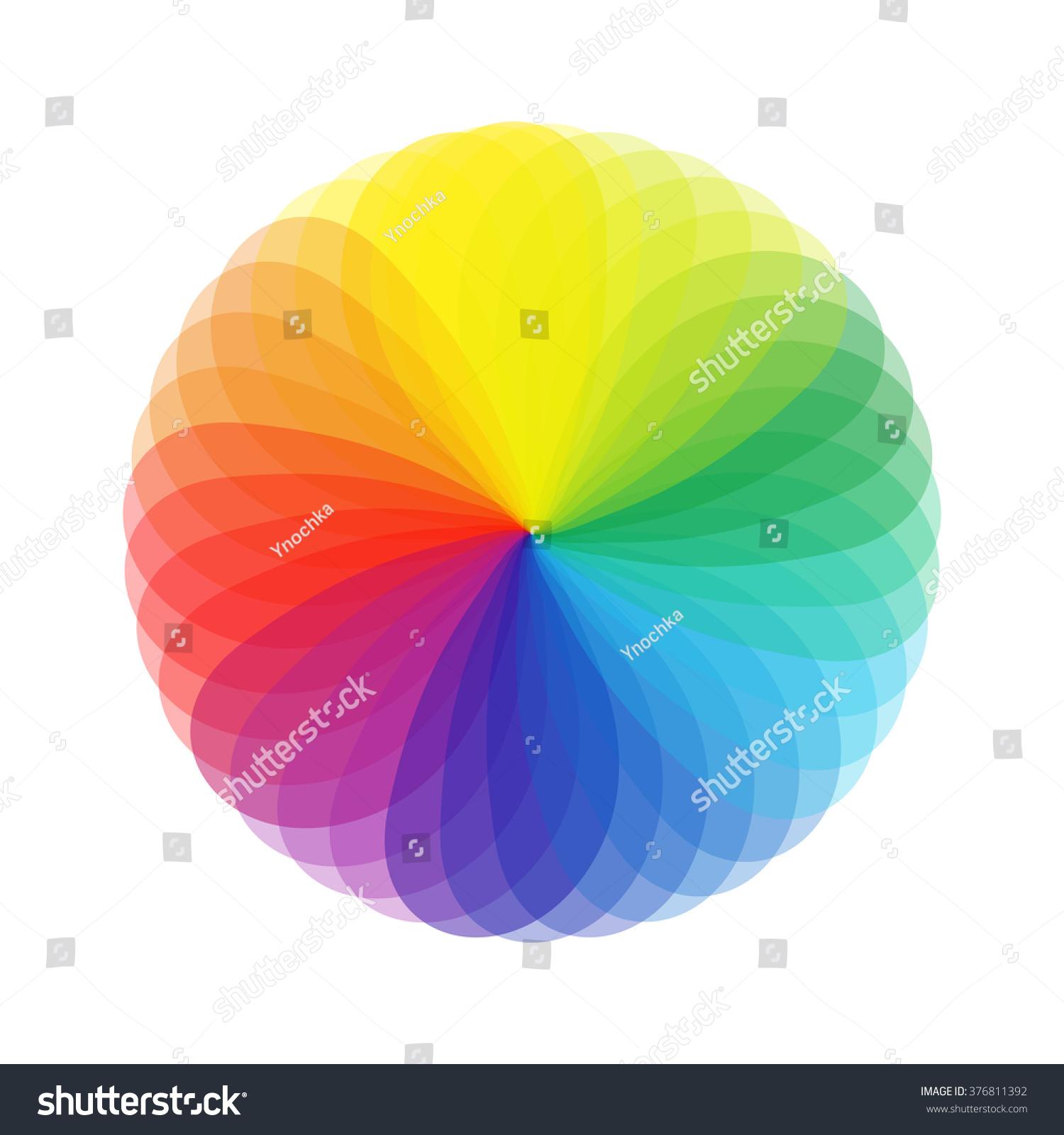 Color chart circle vector colorwheel stock vector 376811392 color chart circle vector colorwheel nvjuhfo Images
