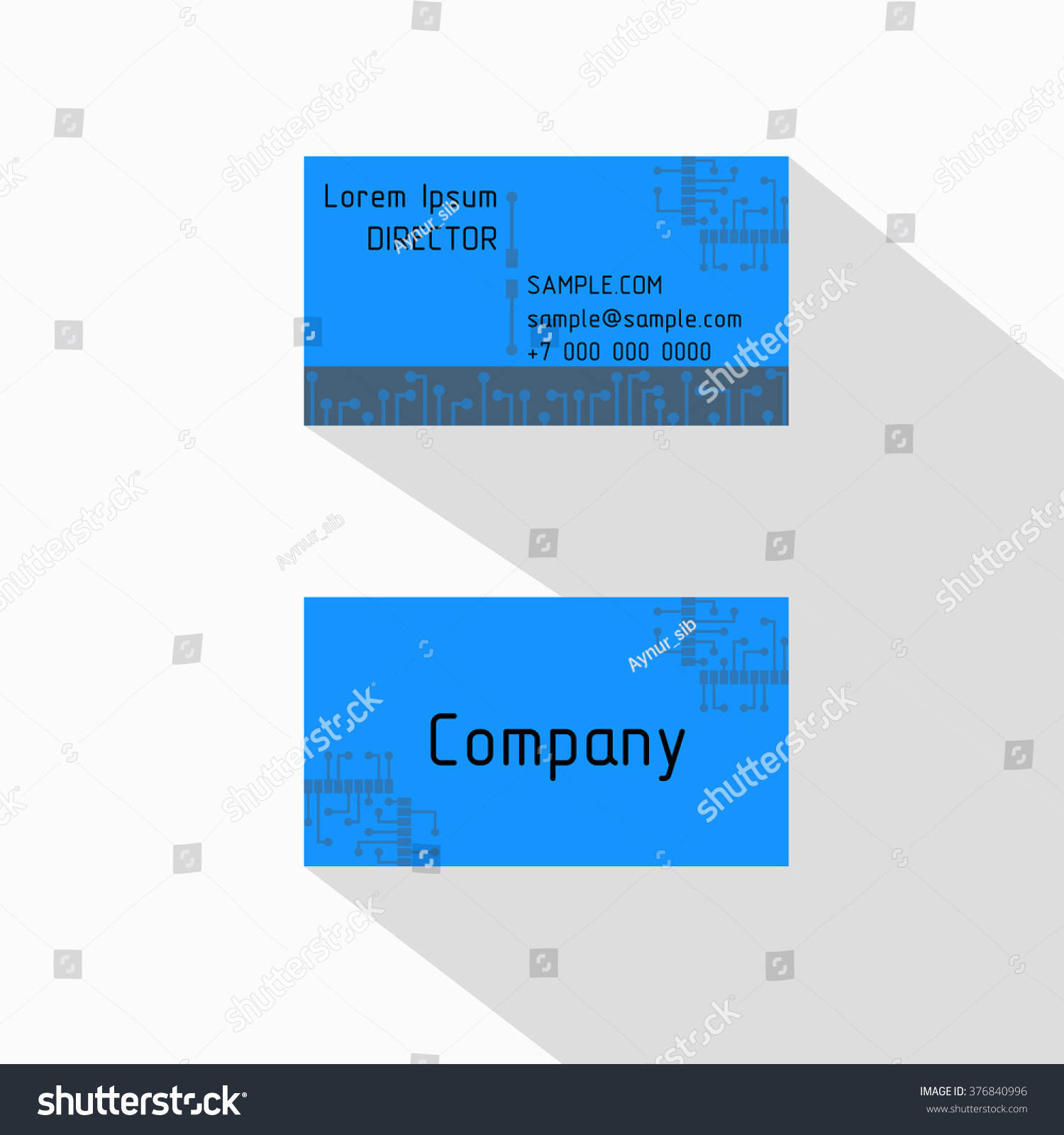 Circuit Board High Technological Chip Style Stock Vector 376840996 ...
