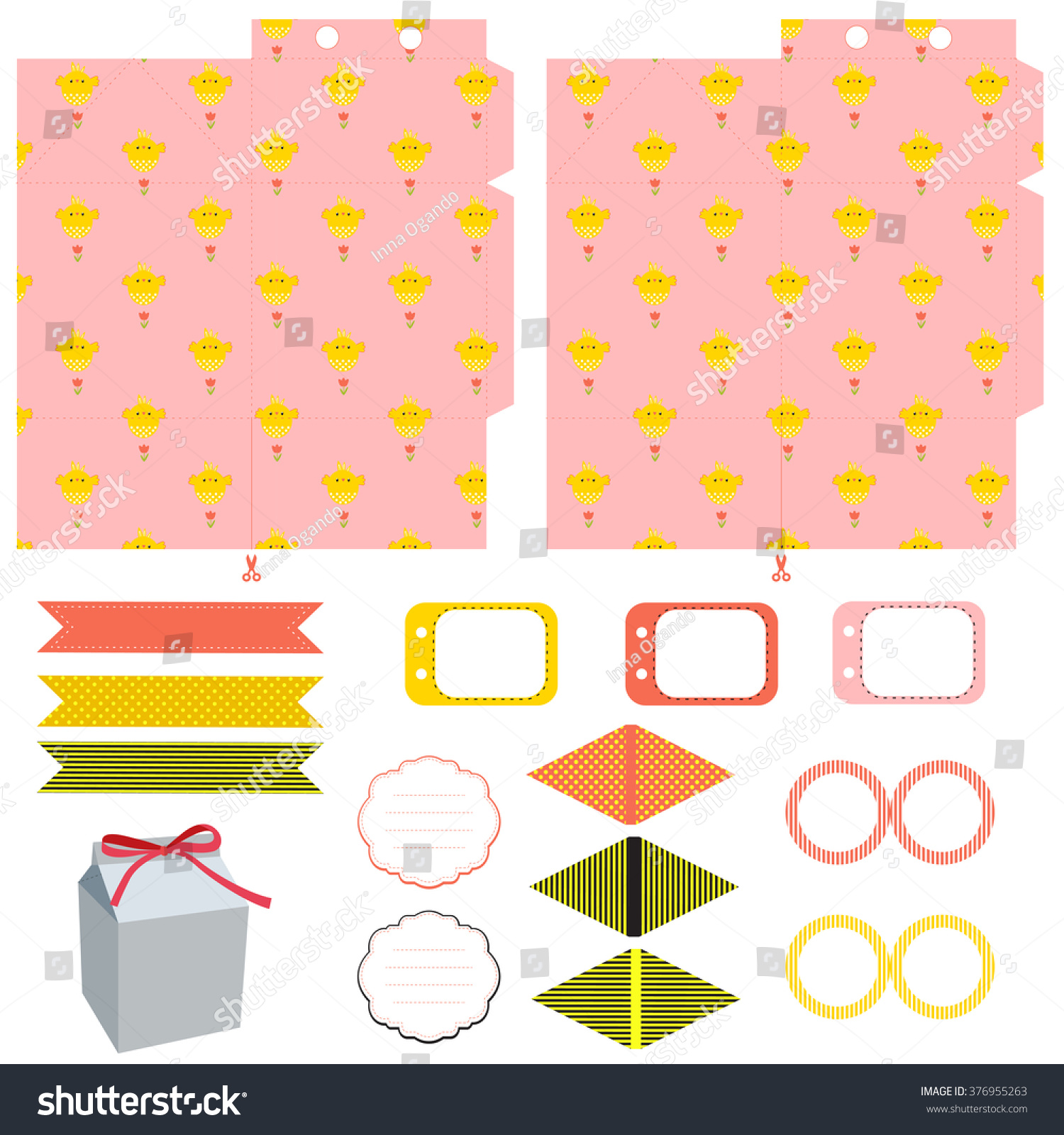 party box template Bulesnantly