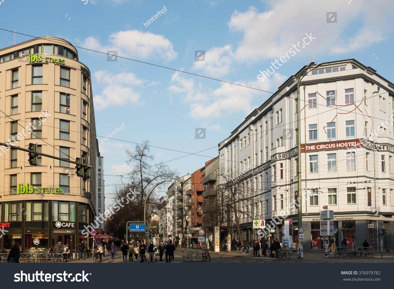Berlin February 12 Ibis Styles Hotel Stock Photo Edit Now