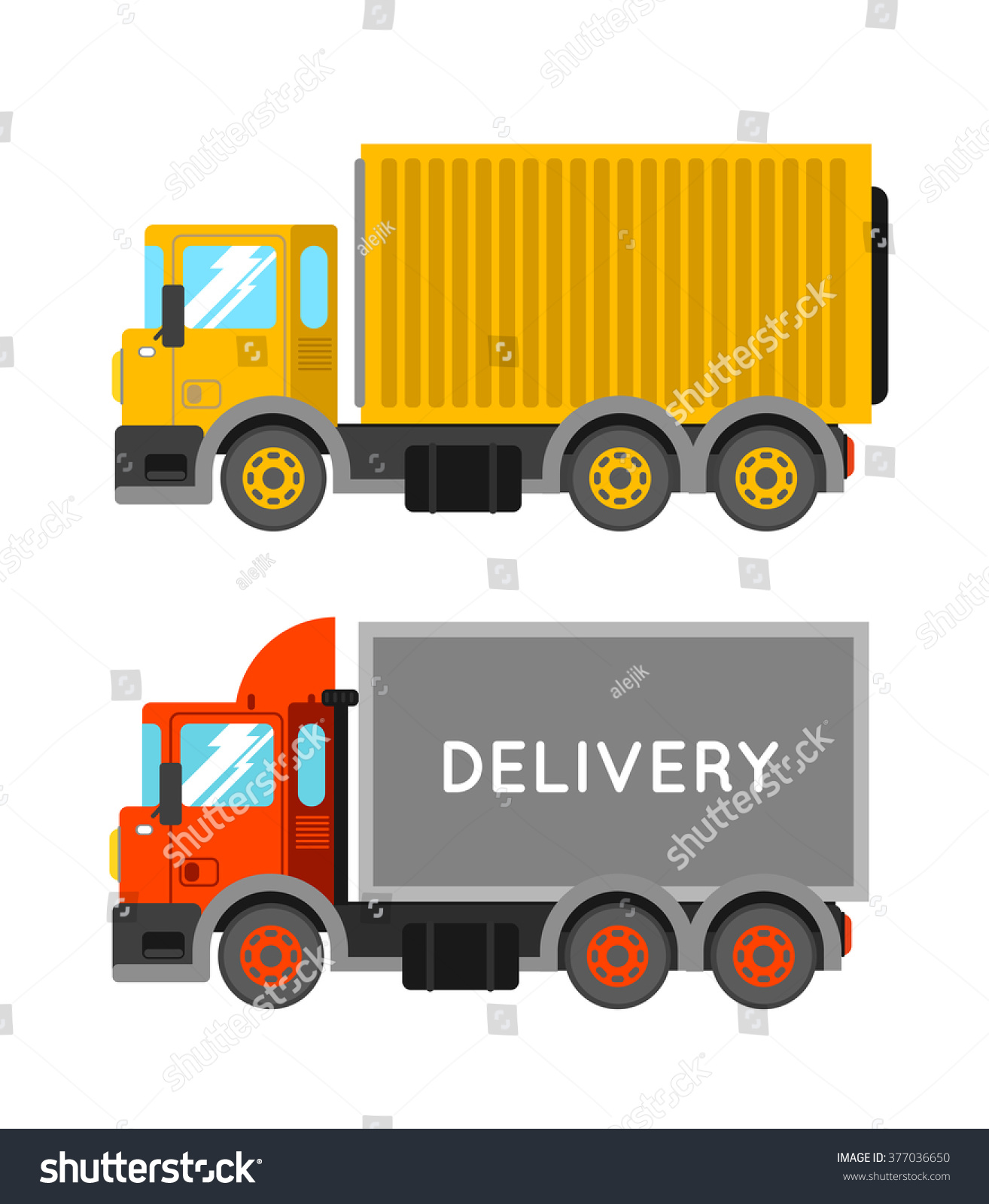 delivery truck vector - photo #21