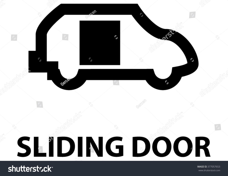Vector Isolated Dashboard Sign Description Sliding Stock Vector