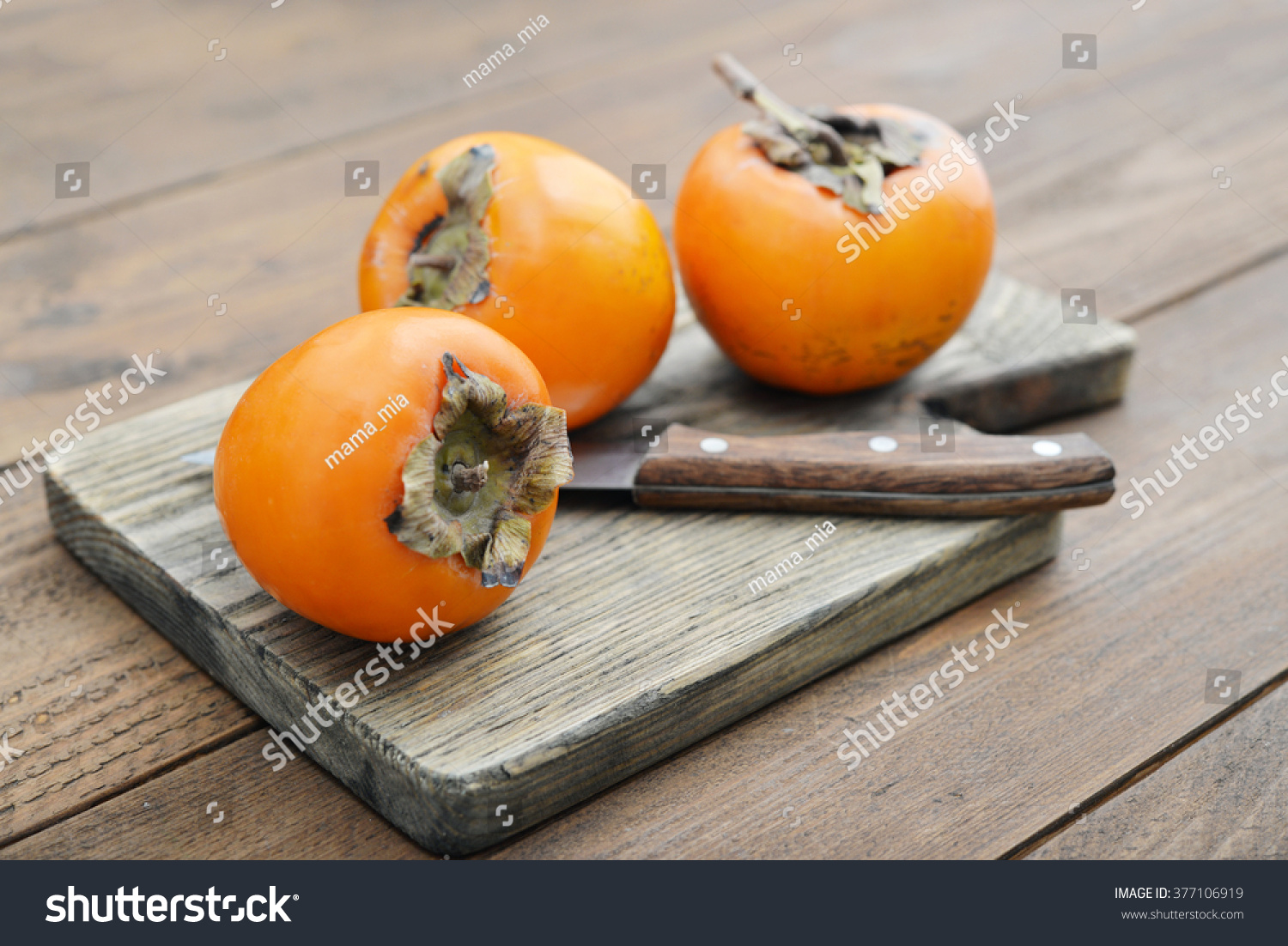 how to tell when a persimmon is ripe