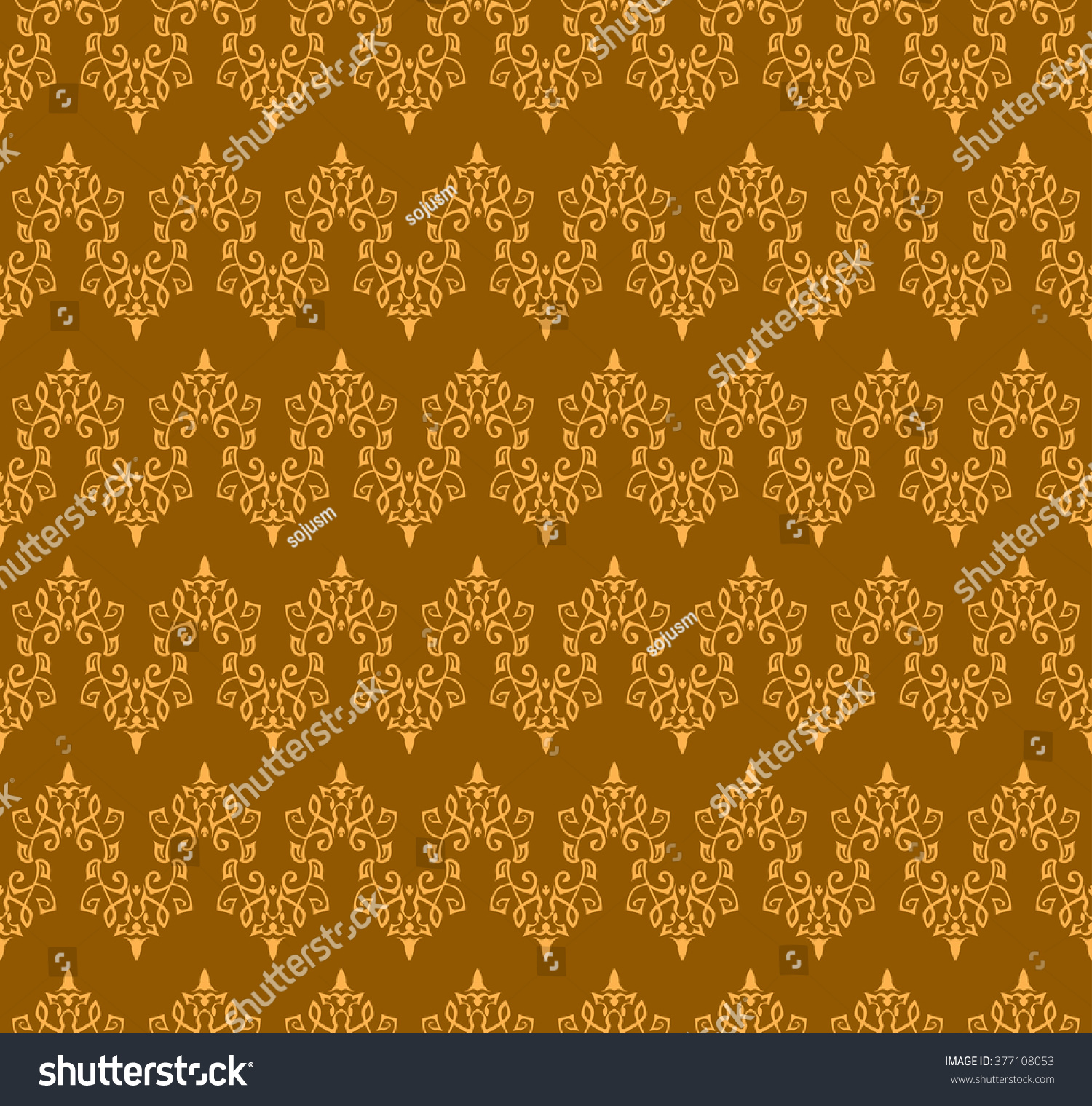Seamless Elegant Ornamental Pattern Orient Traditional Ornament Oriental And Ethnic