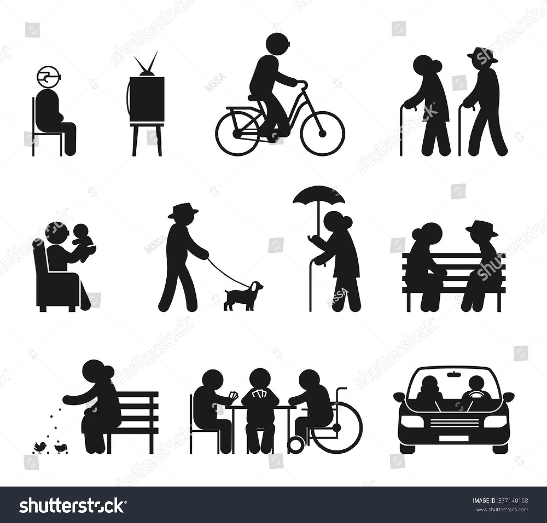 Royalty free Elderly leisure activities Couple old…