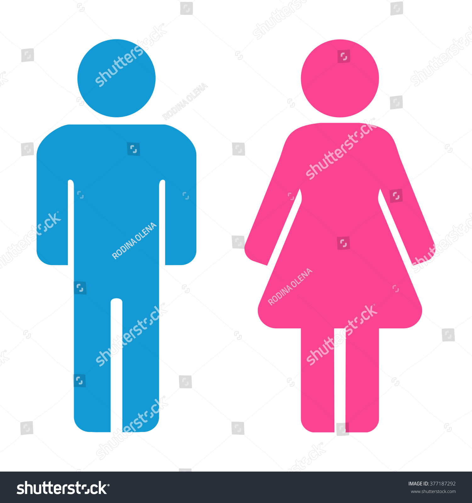 Bathroom Sign Man And Woman free vector graphic man toilet male bathroom free image on