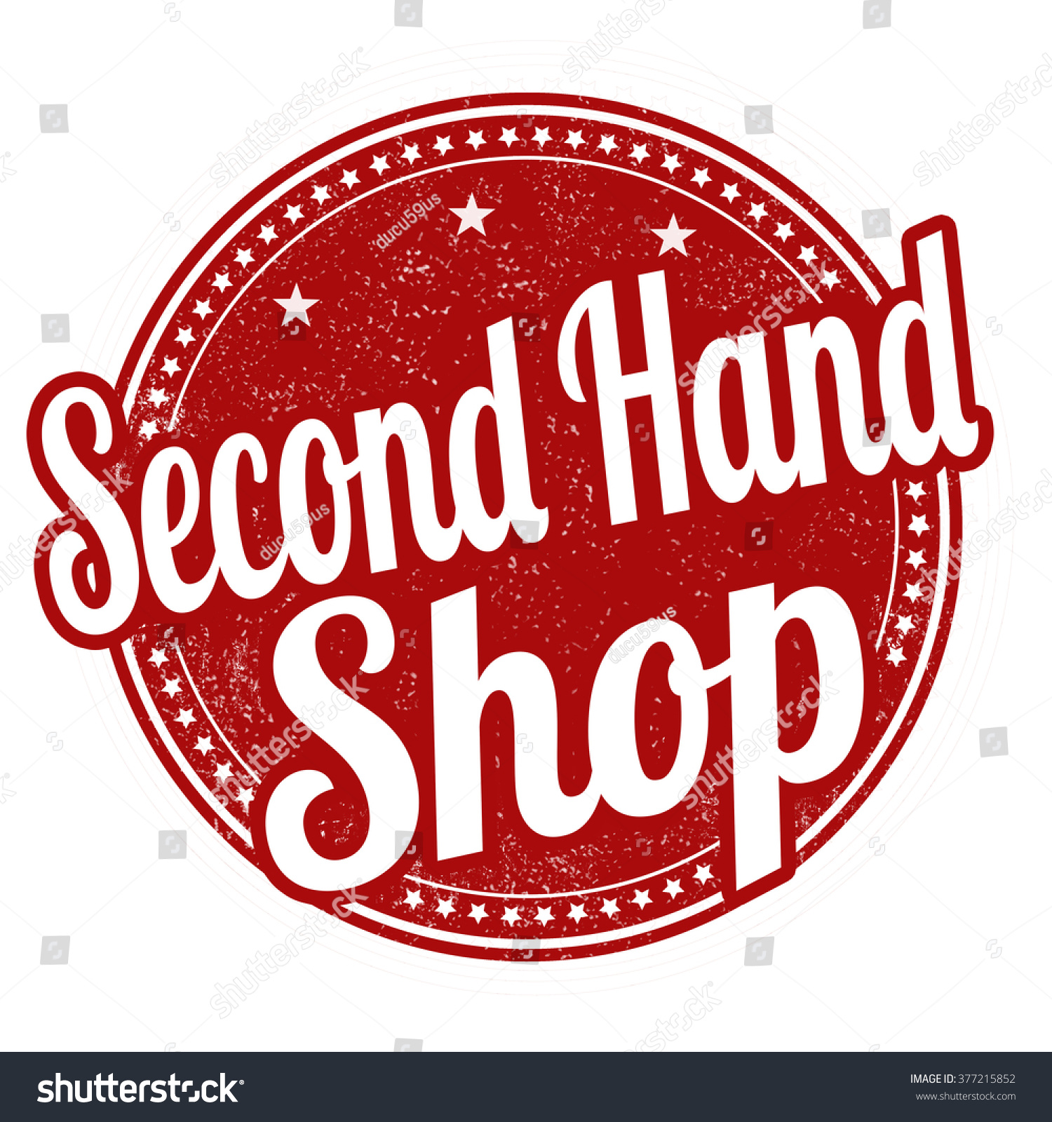 Second Hand Merkkilaukkuja : Second hand grunge rubber stamp stock vector
