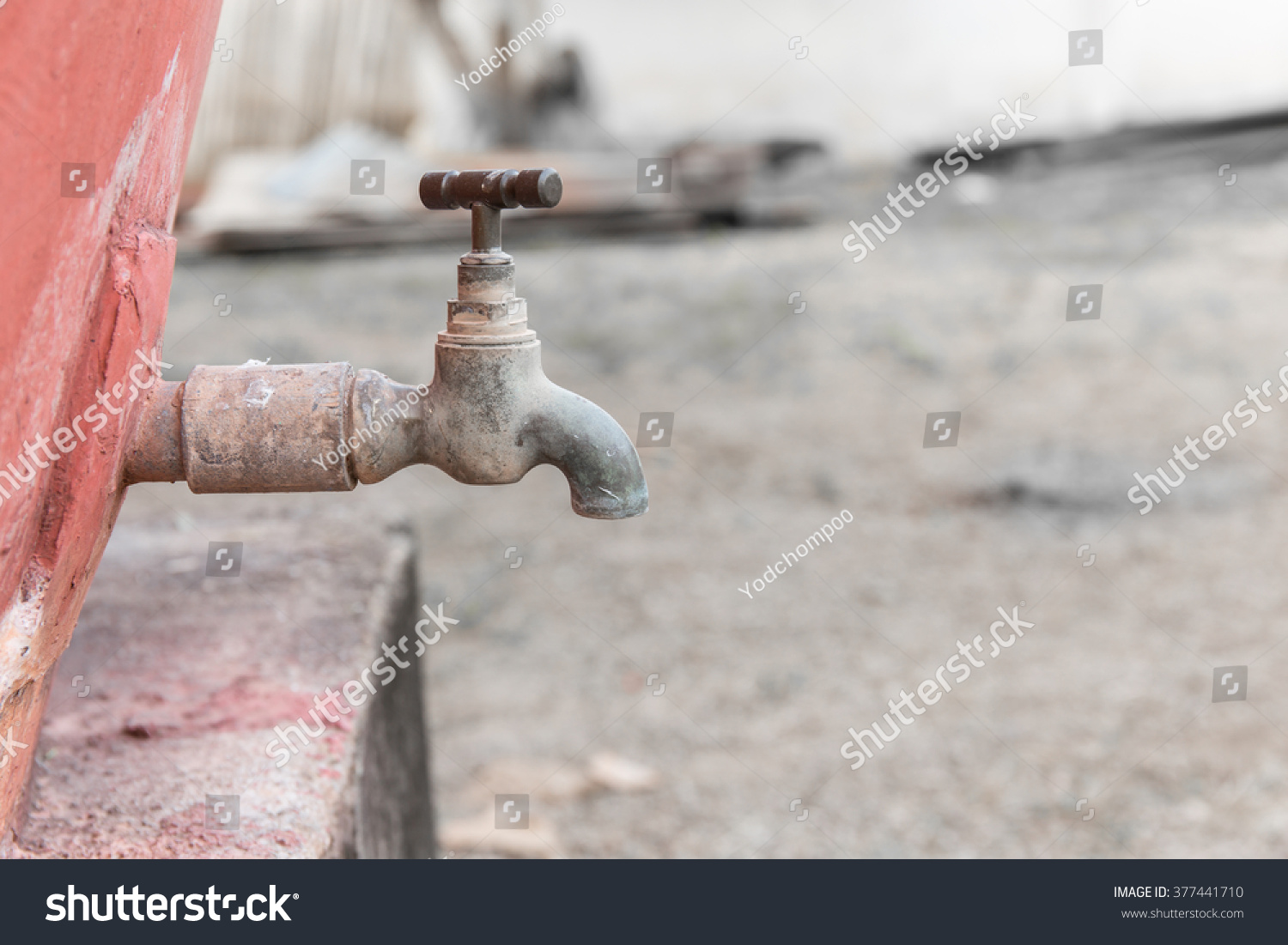 Old Rusty Faucet Stock Photo (Edit Now)- Shutterstock