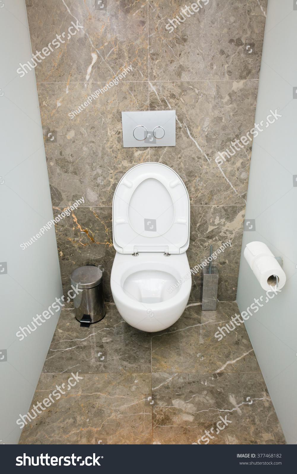 Modern Bathroom WC Toilet Interior Clean Stock Photo (Edit Now ...