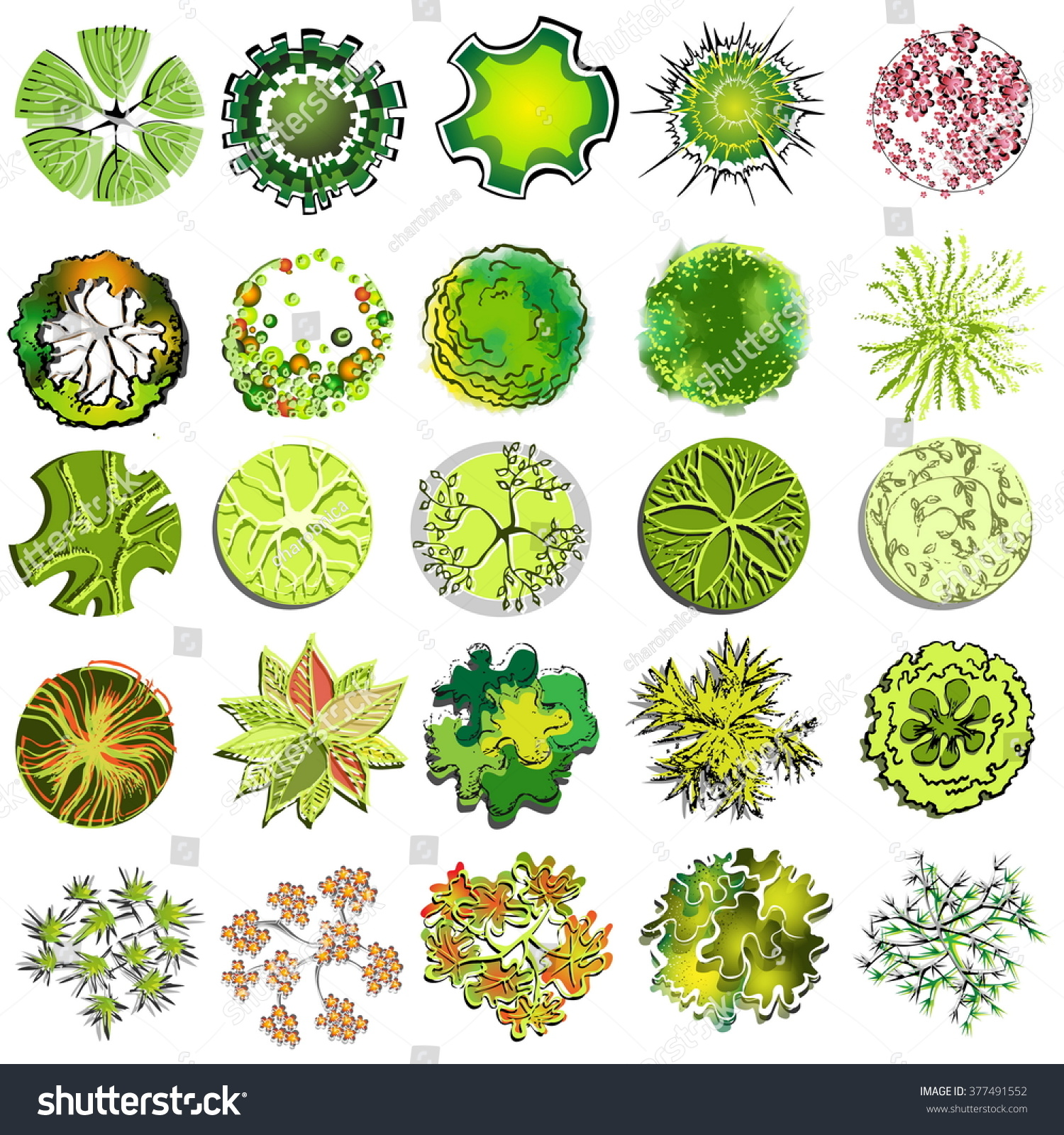 4570book Clipart Symbols Plants Garden In Pack 4930