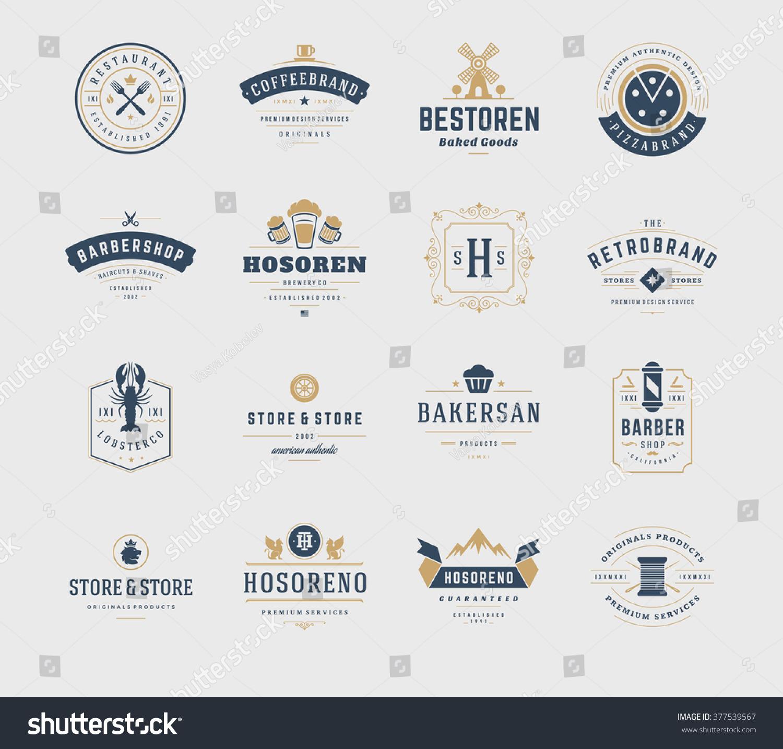 how to make a vintage logo