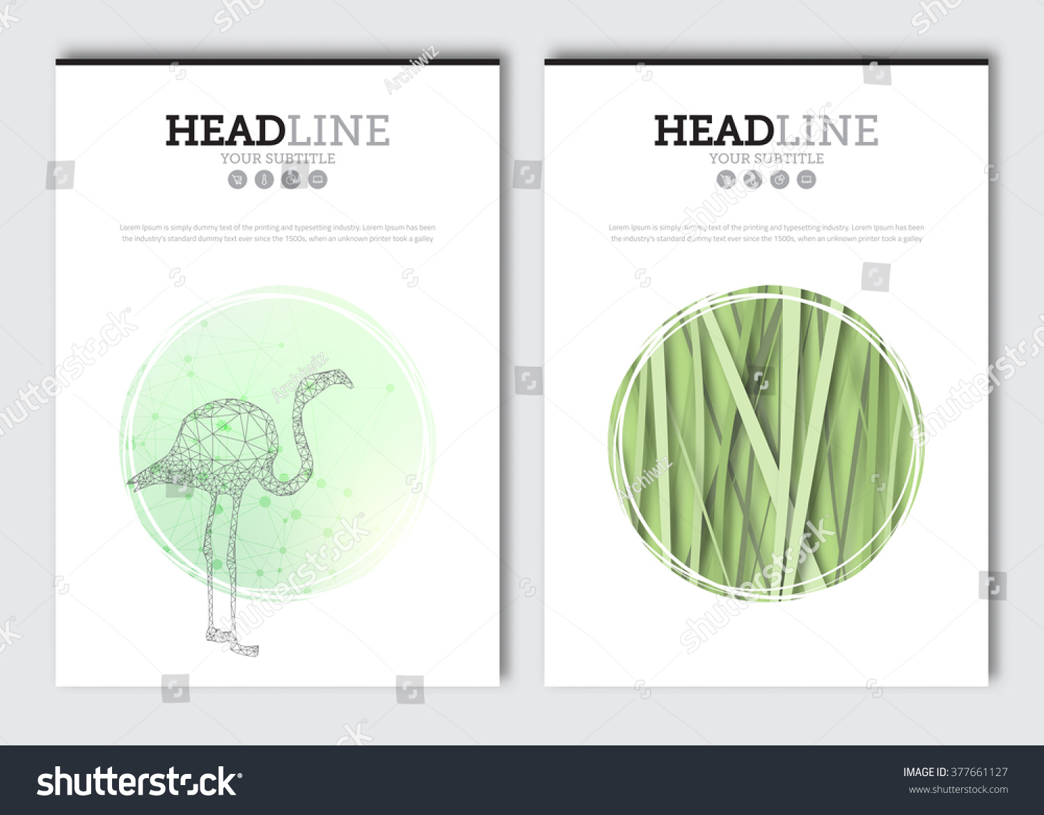 agriculture brochure templates free - business brochure design template vector flyer stock