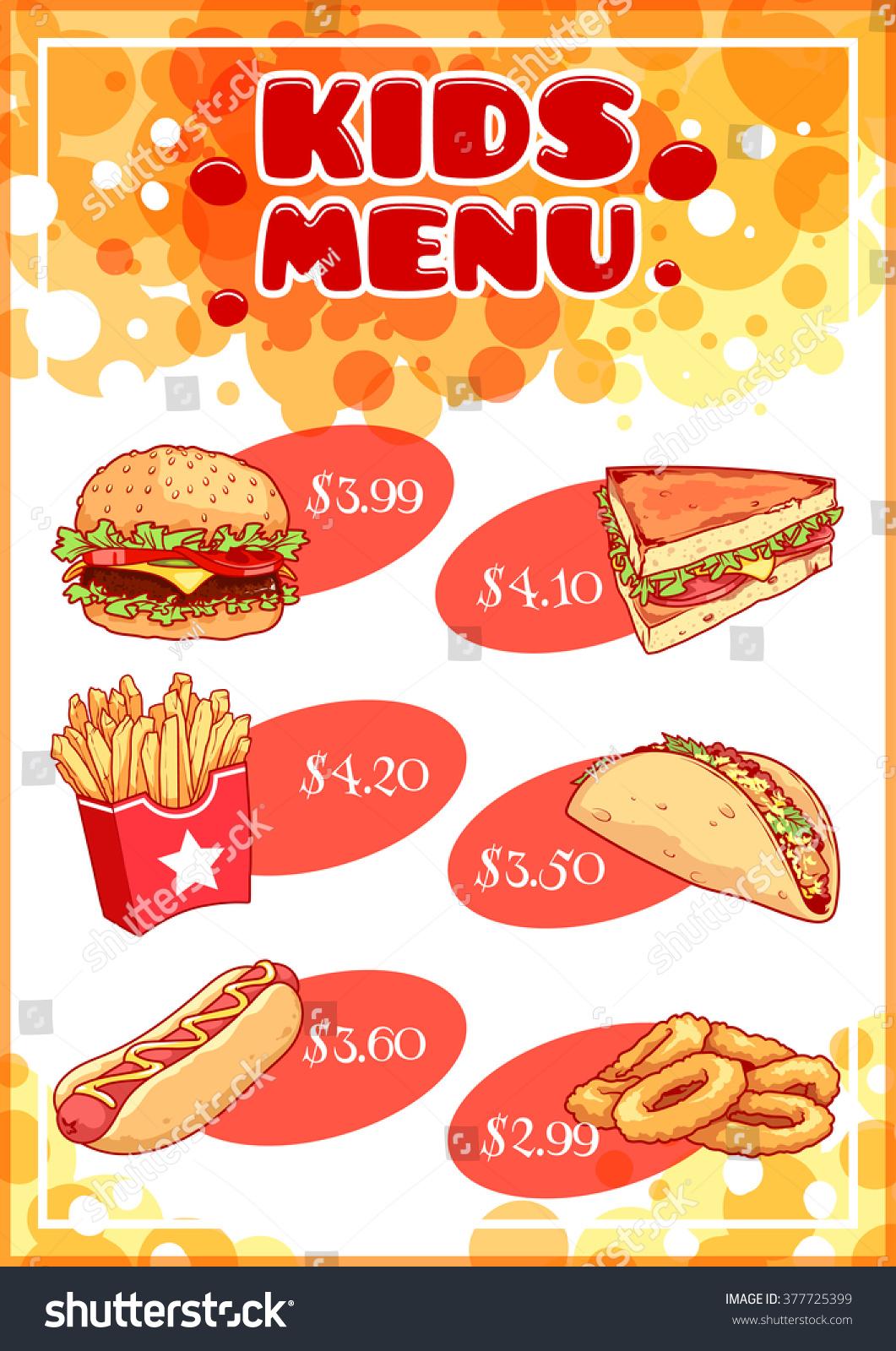 Hot Dog Cafe Menu